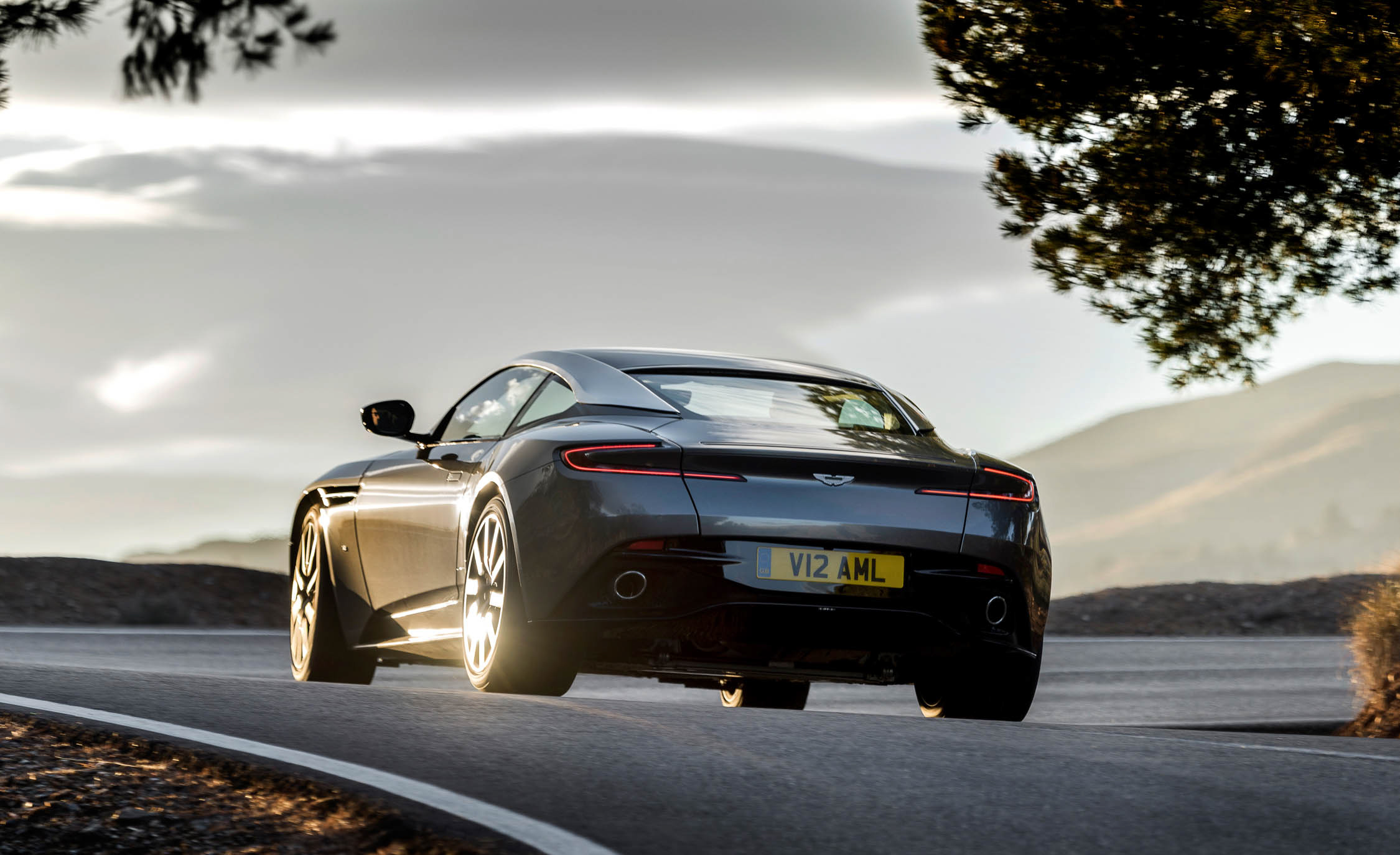 2017 Aston Martin Db11 Exterior Rear Side (View 17 of 22)