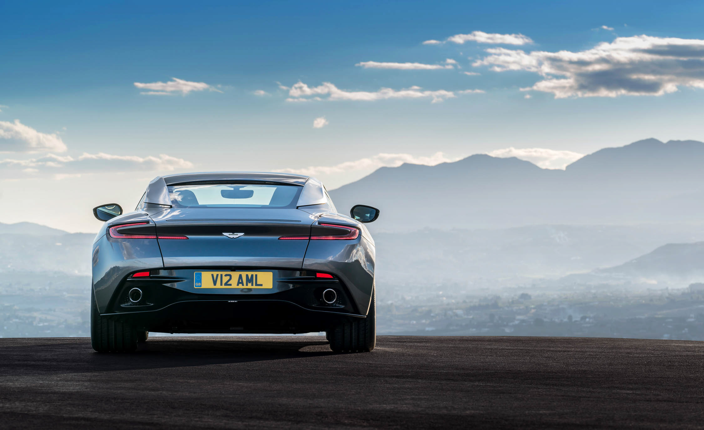 2017 Aston Martin Db11 Exterior Rear View (View 18 of 22)