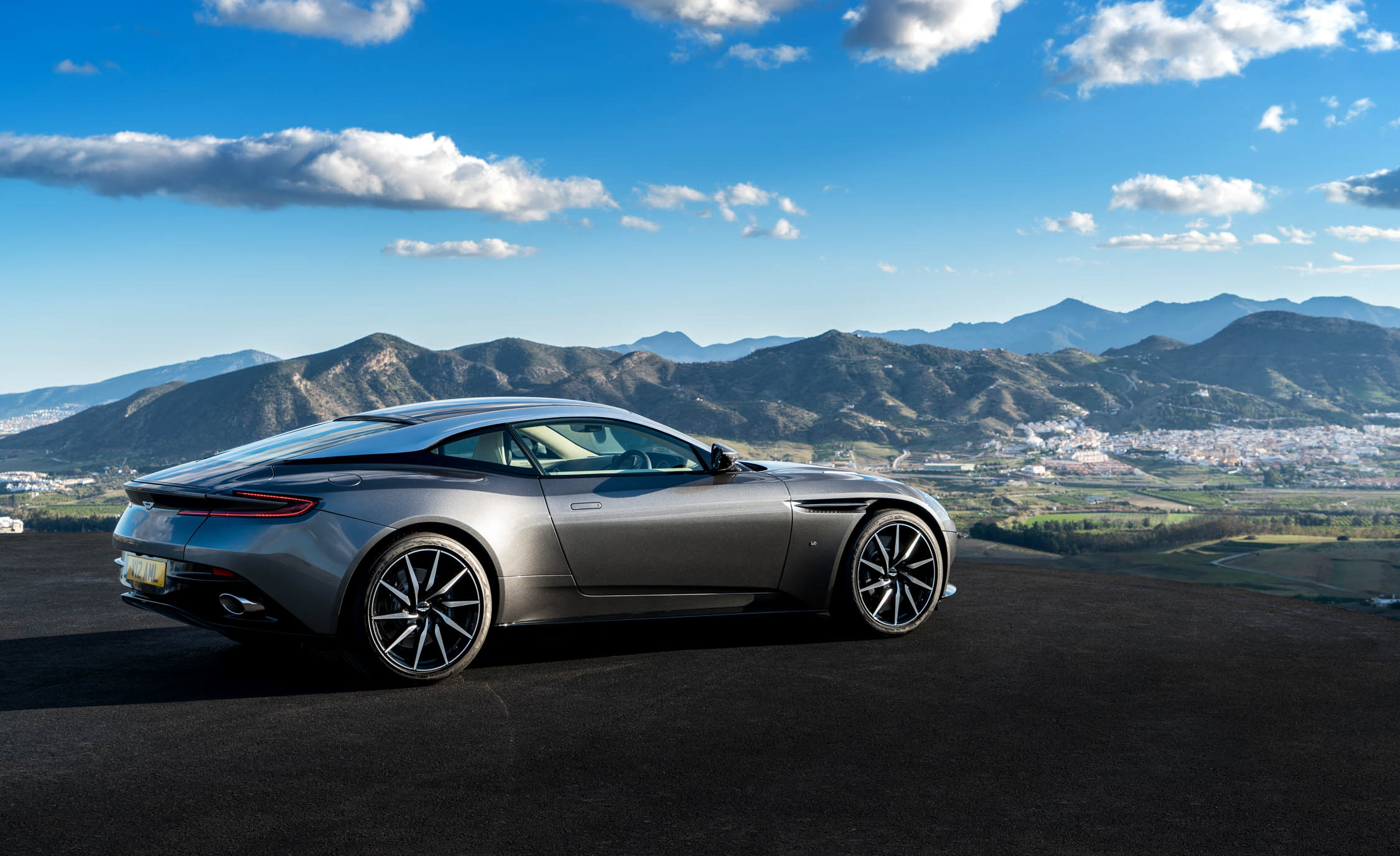 2017 Aston Martin Db11 Exterior Side And Rear View (View 13 of 22)