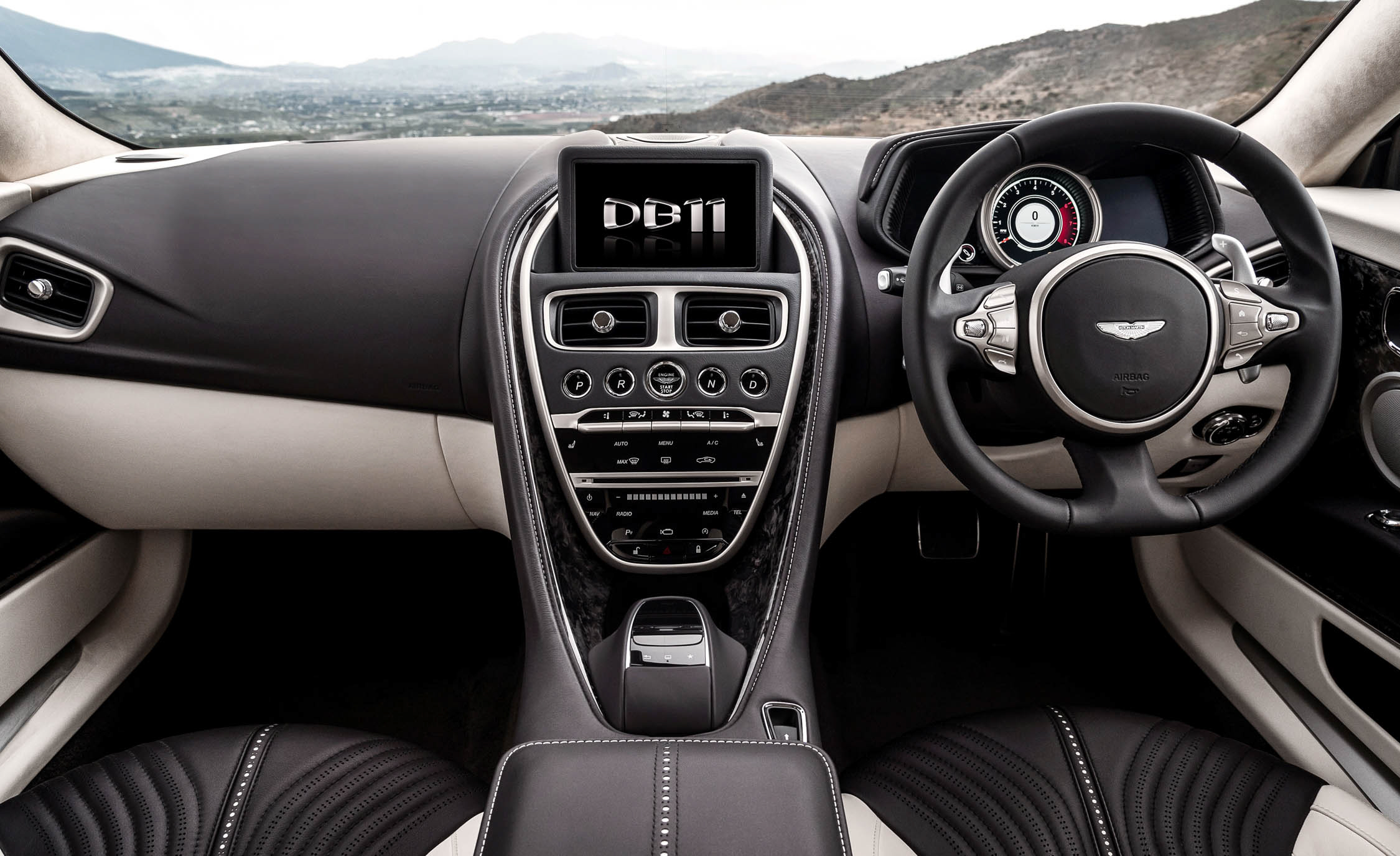 2017 Aston Martin Db11 Interior Dashboard (View 11 of 22)