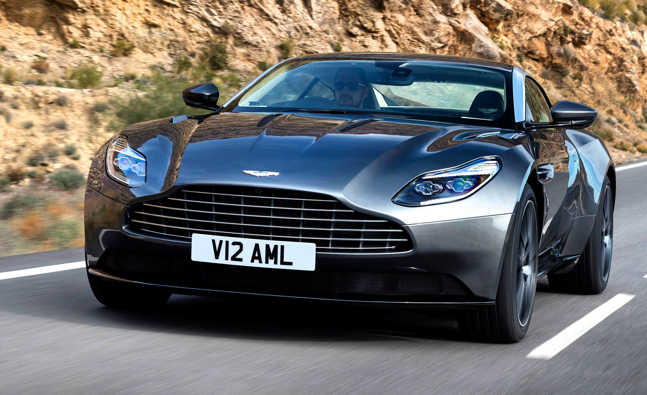 2017 Aston Martin Db11 Test Drive Front End (Photo 15 of 22)