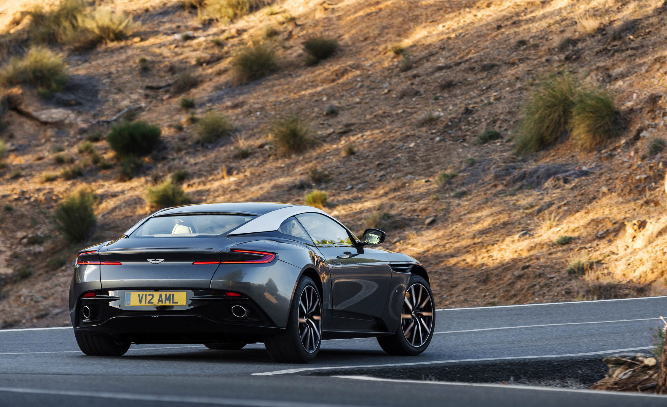 2017 Aston Martin Db11 Test Drive Rear View (View 10 of 22)