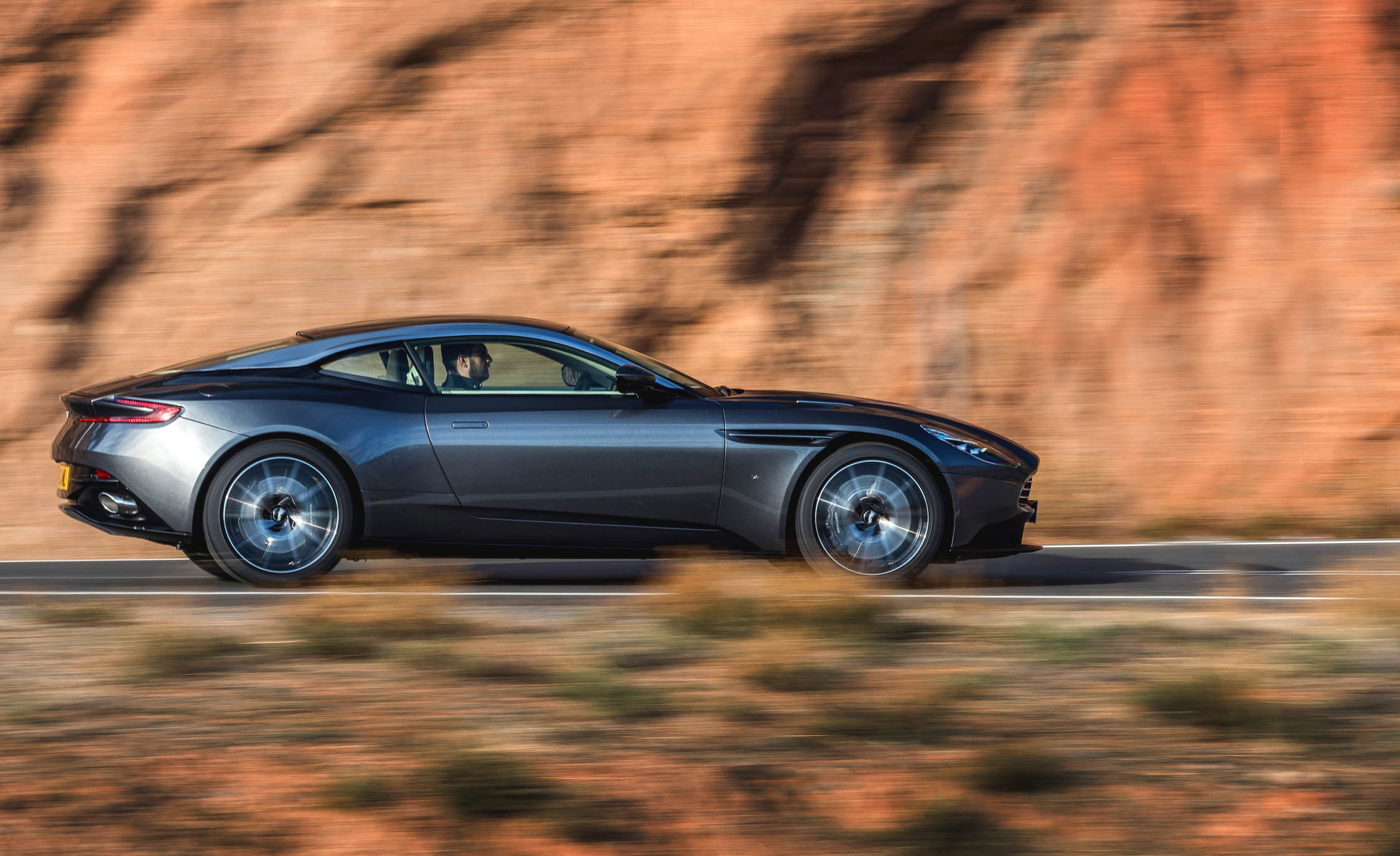 2017 Aston Martin Db11 Test Drive Side View (View 3 of 22)