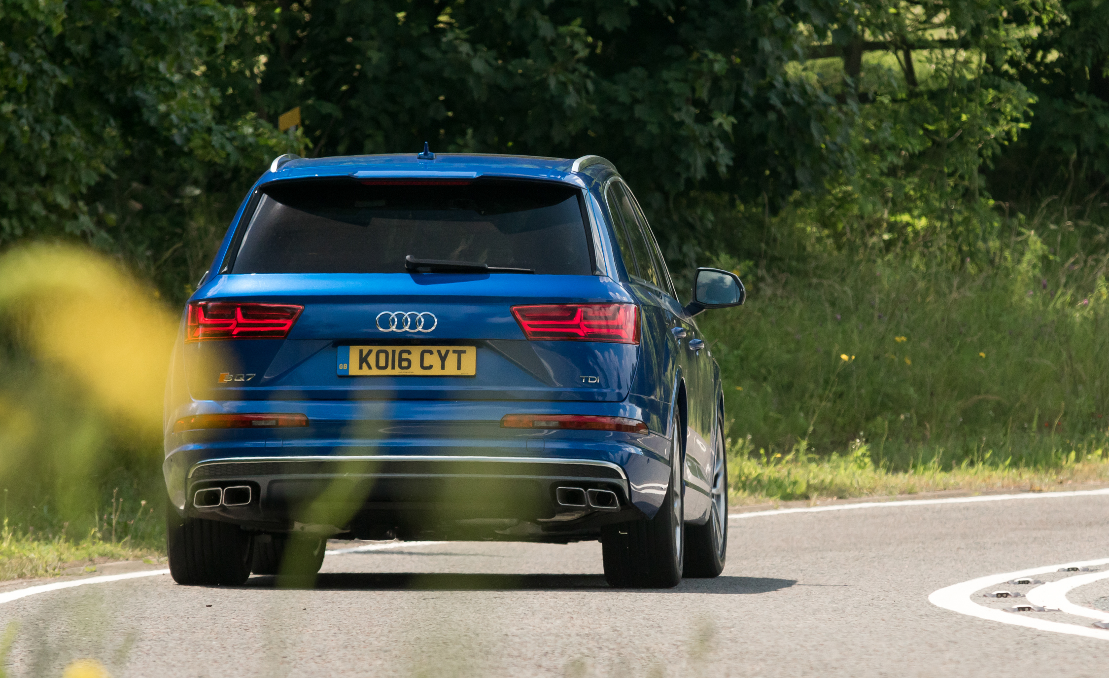 2017 Audi Sq7 Test Drive Rear View (Photo 15 of 15)