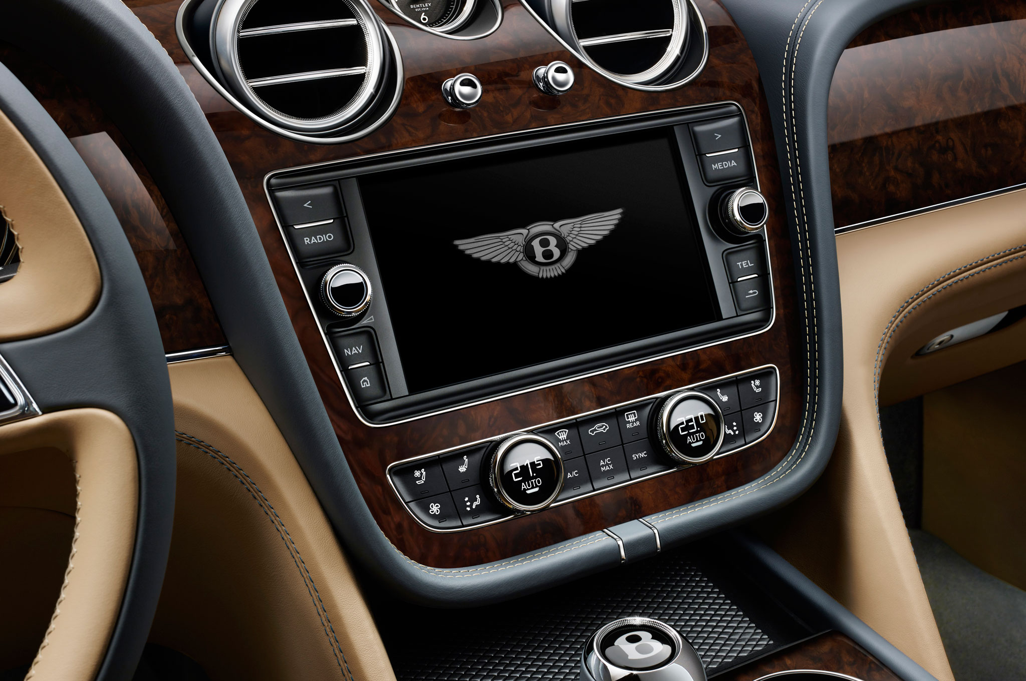 2017 Bentley Bentayga Center Head Unit (Photo 2 of 16)