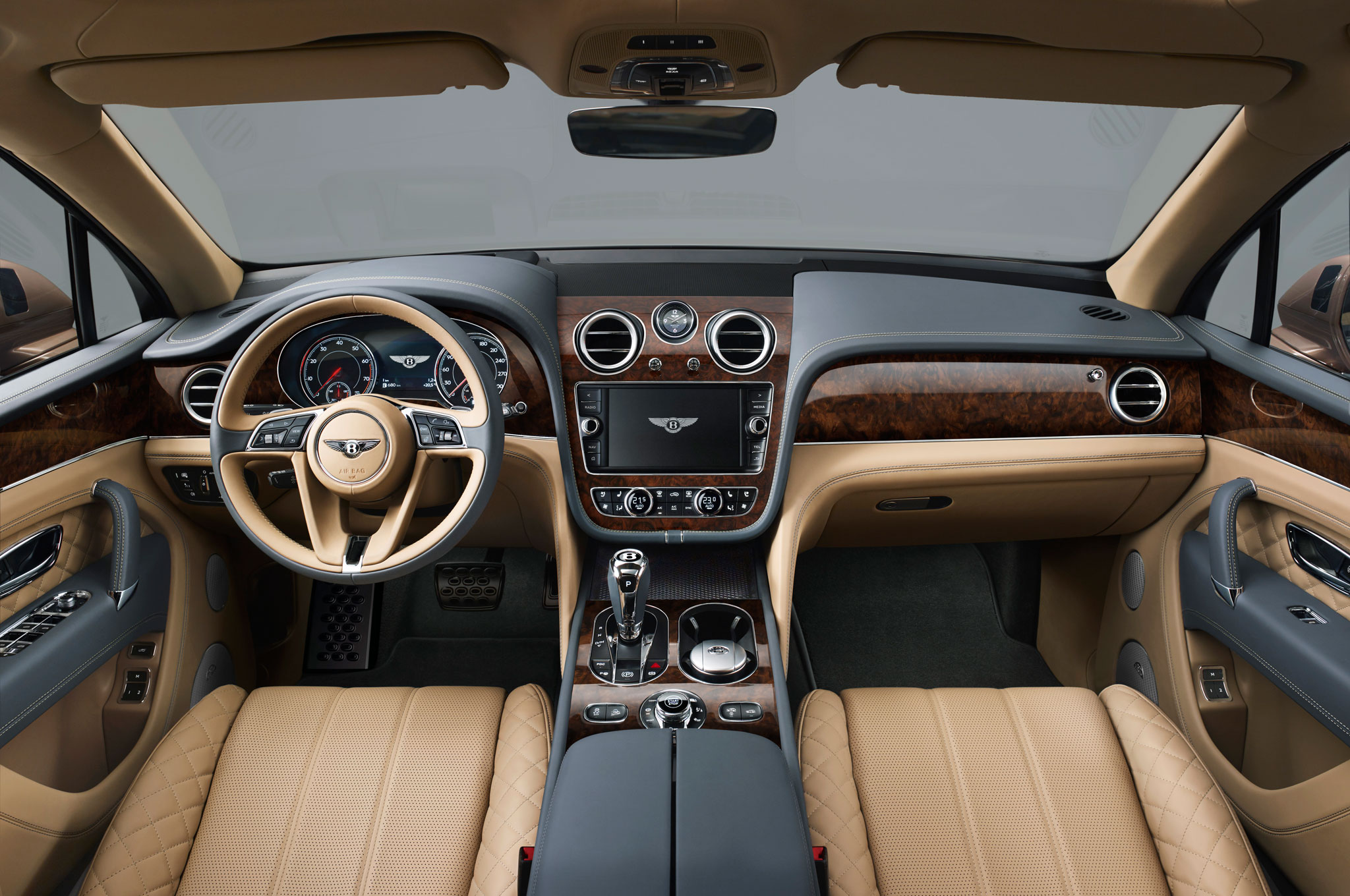 2017 Bentley Bentayga Interior Preview (Photo 6 of 16)