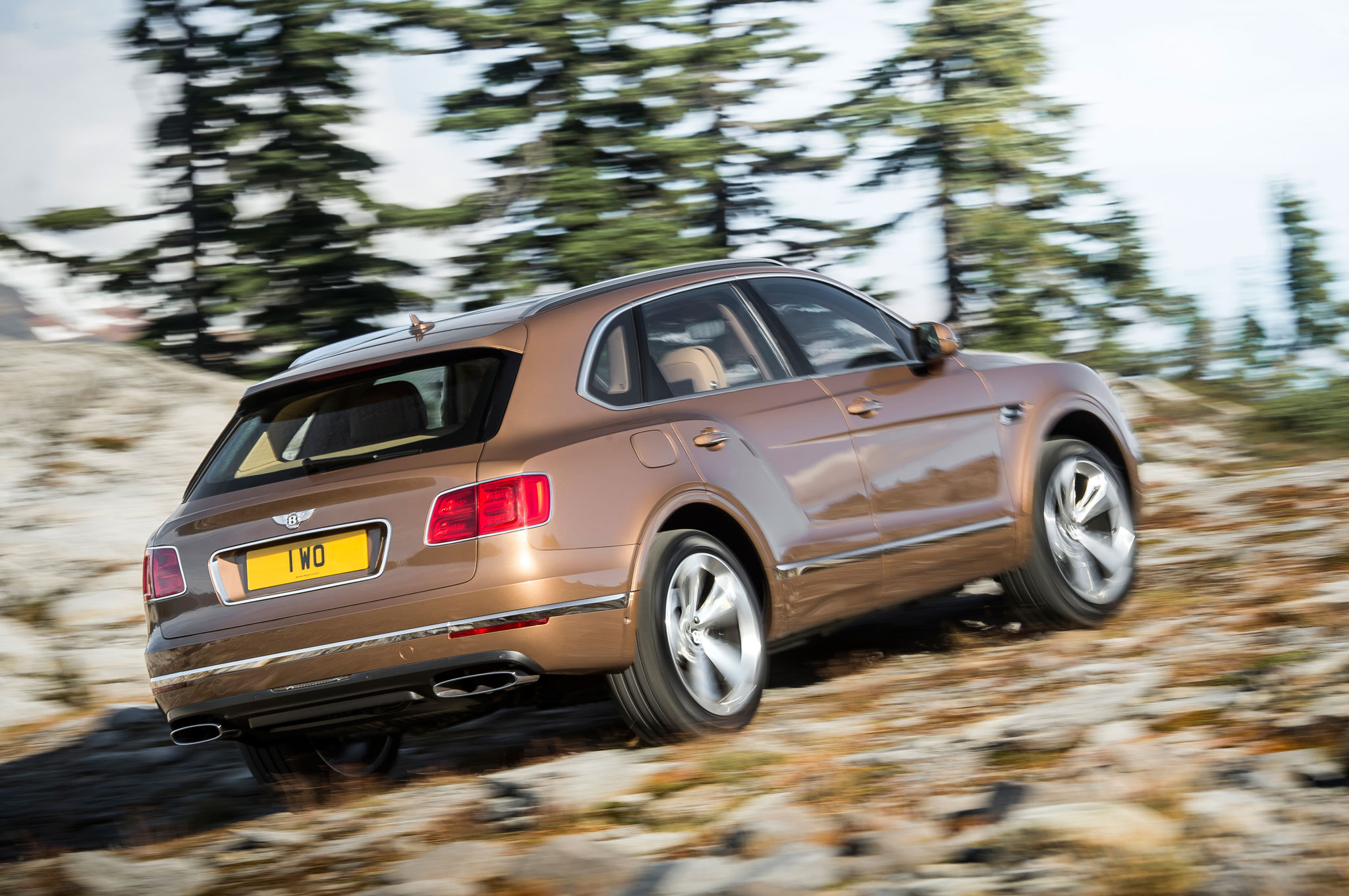 2017 Bentley Bentayga Off Road Test (Photo 9 of 16)
