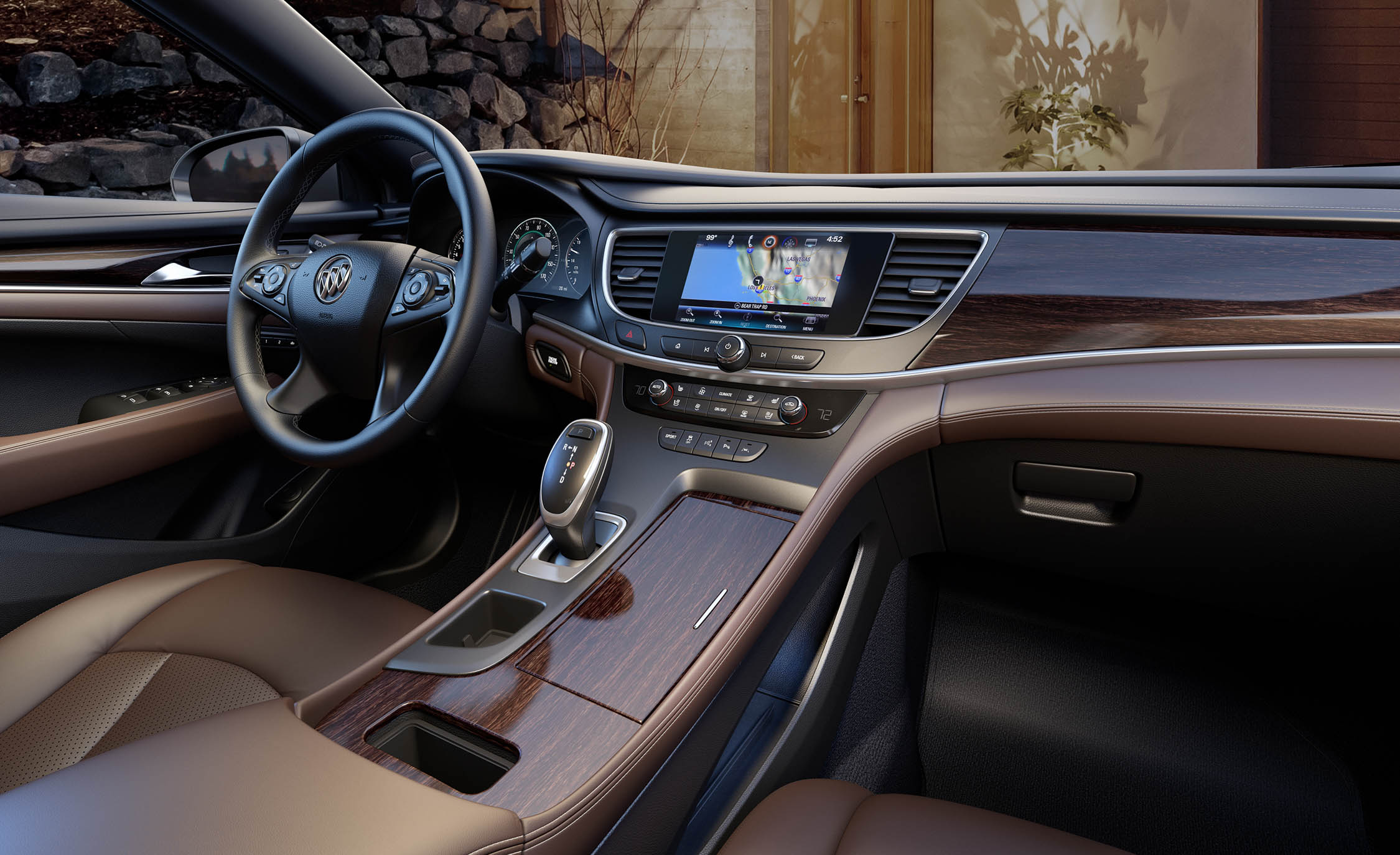 2017 Buick Lacrosse Cockpit And Dashboard Interior (Photo 14 of 26)