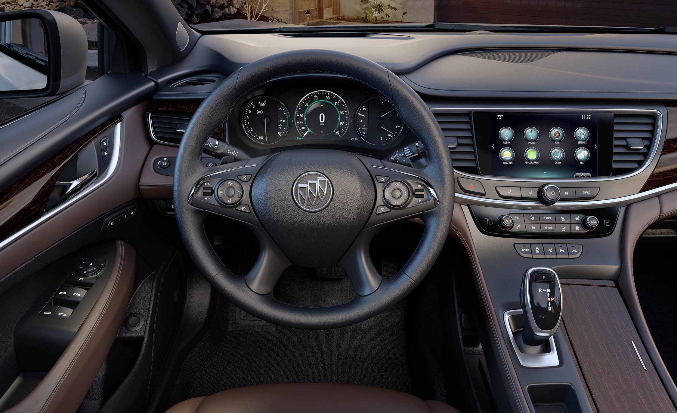 2017 Buick Lacrosse Cockpit And Speedometer (Photo 15 of 26)
