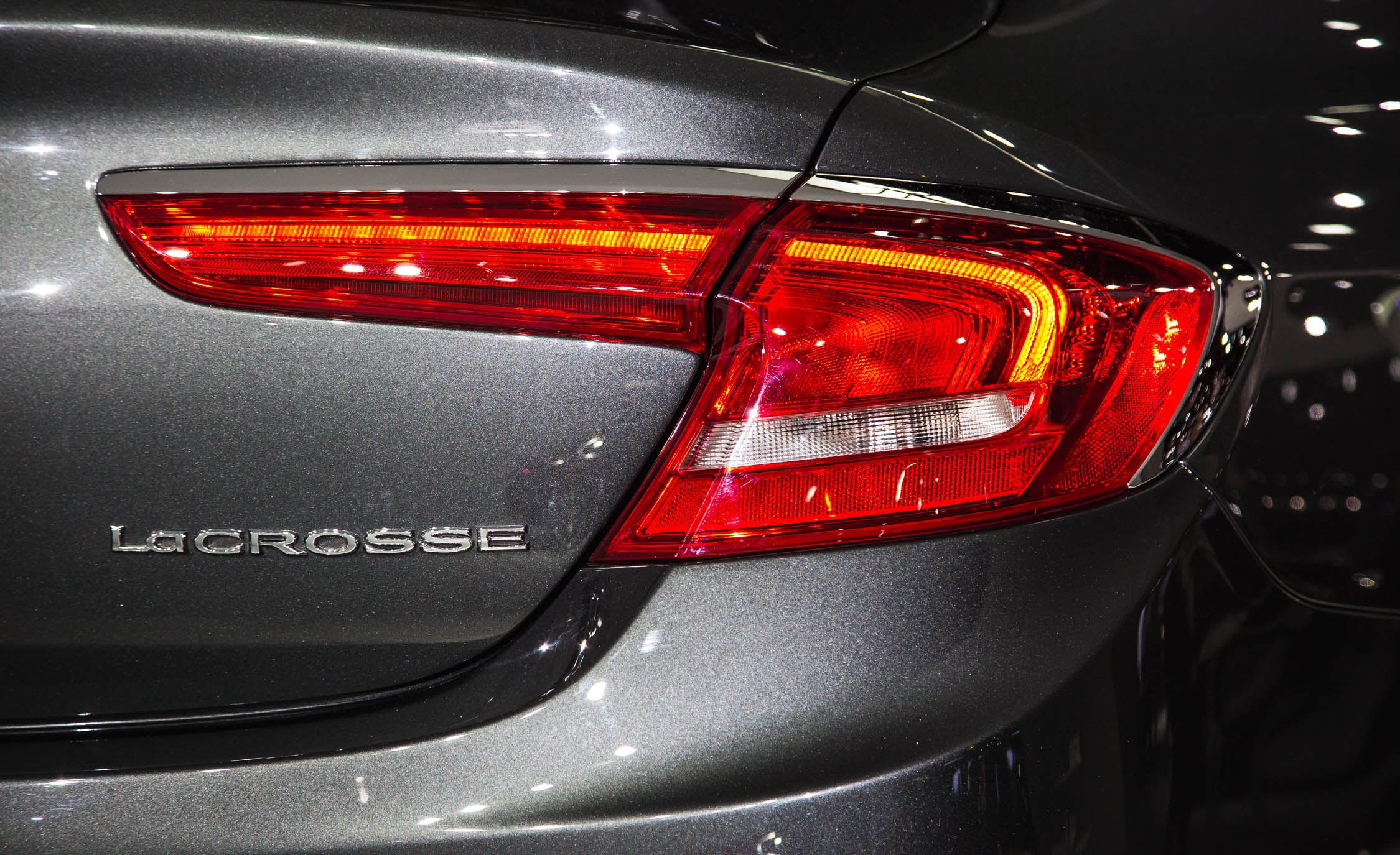 2017 Buick Lacrosse Taillight (Photo 26 of 26)