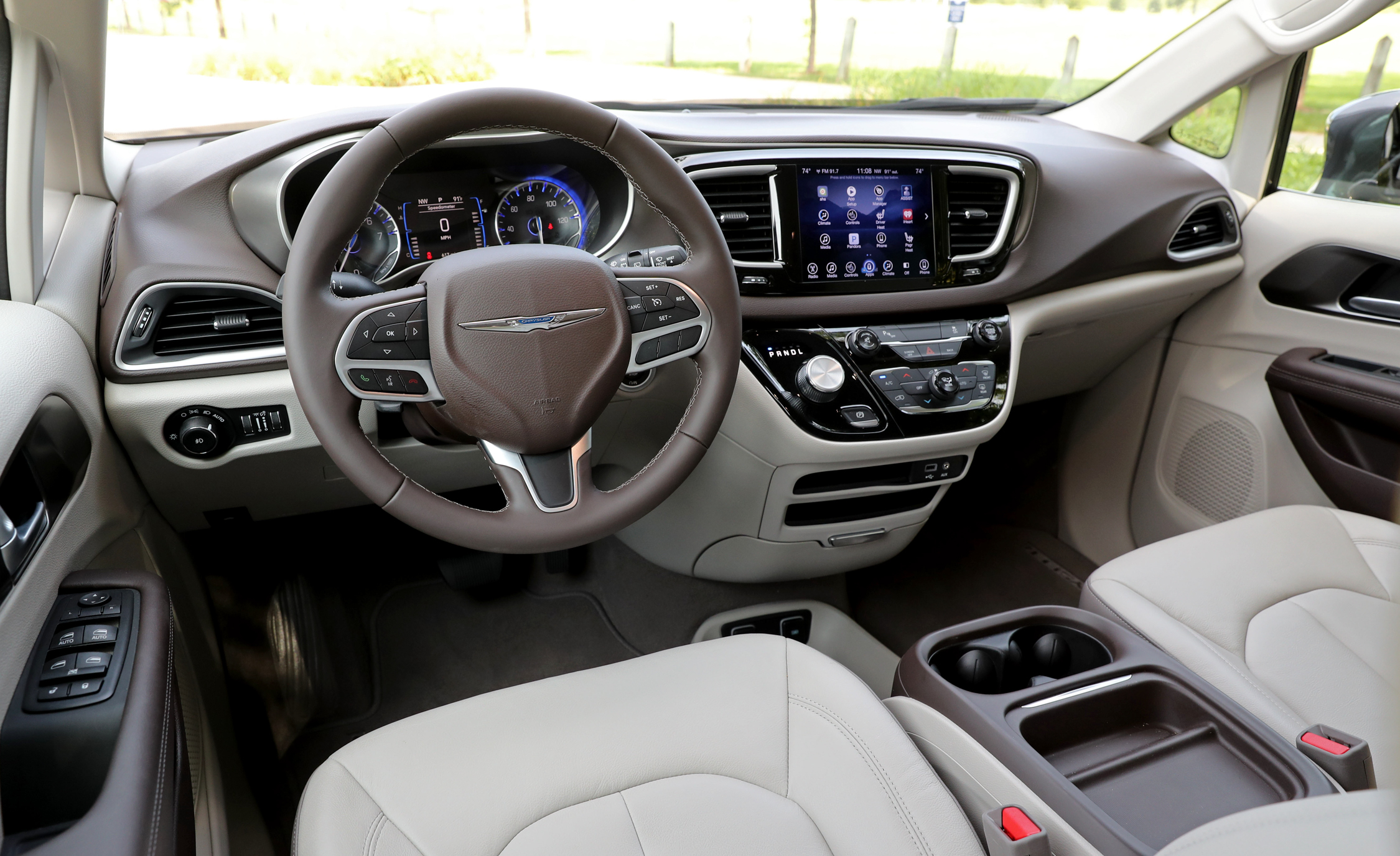 Chrysler Pacifica Dashboard Image 2018 Chrysler Pacifica