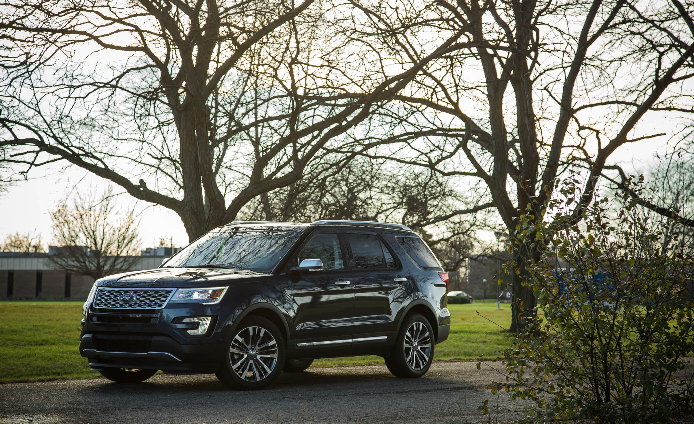 2017 Ford Explorer Platinum (Photo 4 of 20)