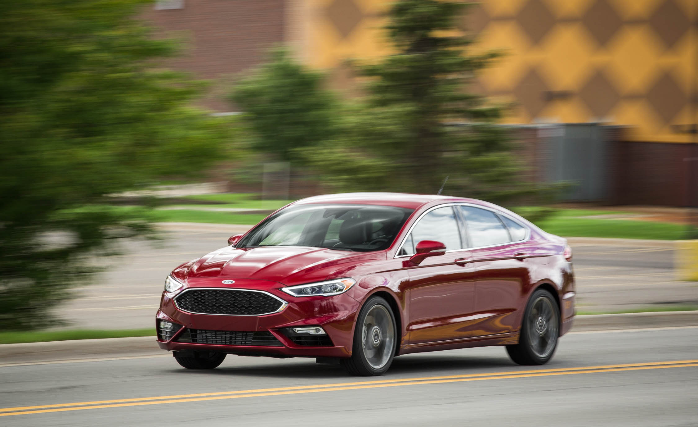 2017 Ford Fusion Sport (Photo 1 of 23)