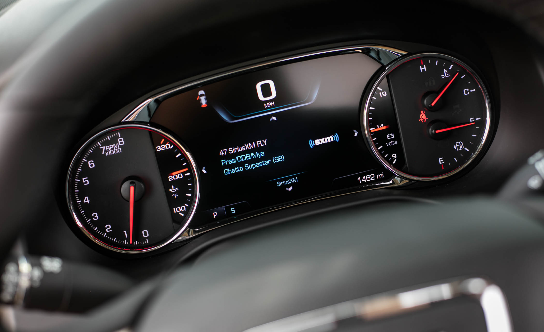 2017 GMC Acadia Denali AWD Interior View Speedometer ...