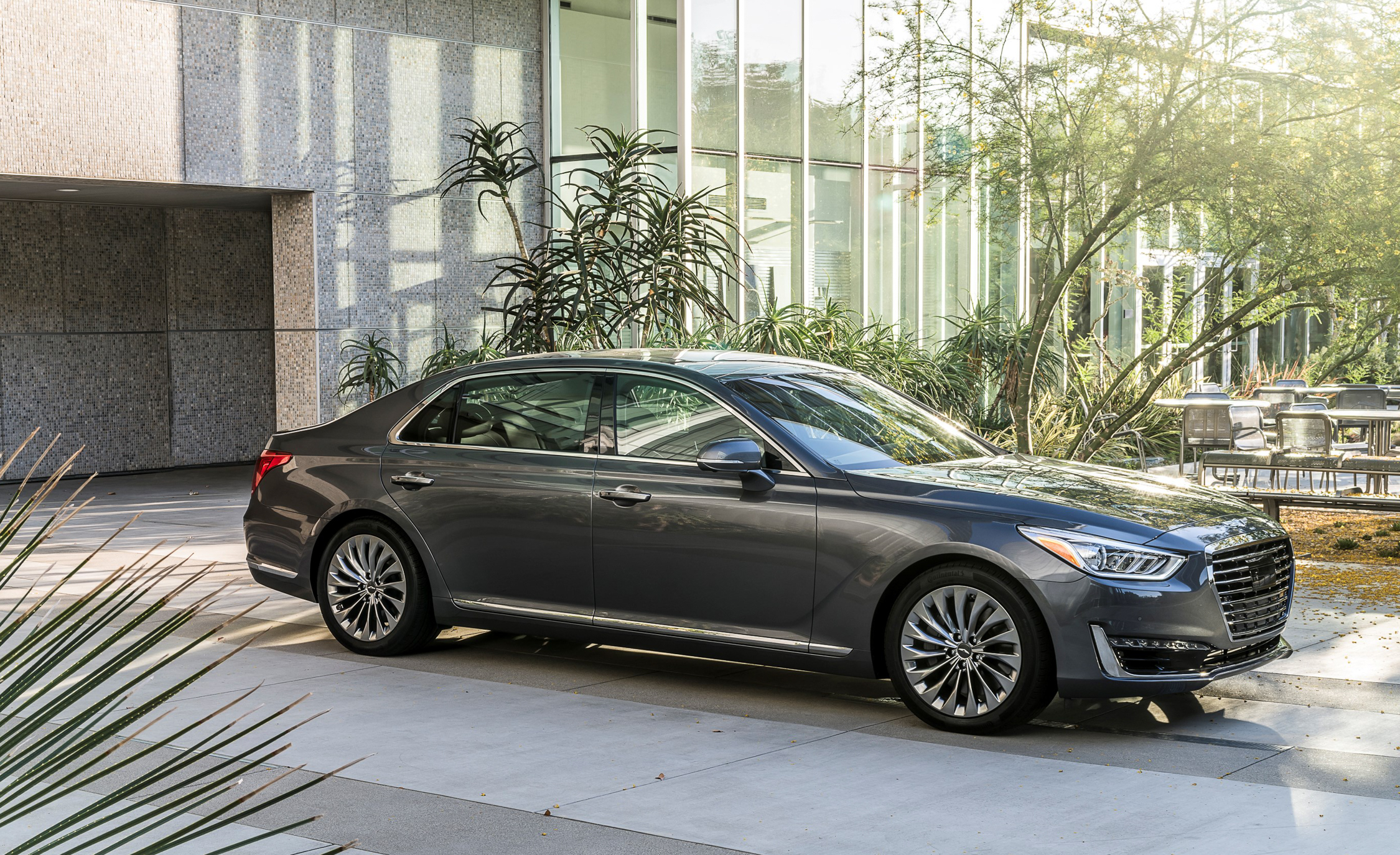 2017 Genesis G90 Exterior Preview (Photo 6 of 19)