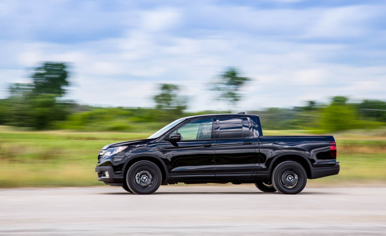 2017 Honda Ridgeline Test Drive Side View (Photo 20 of 20)