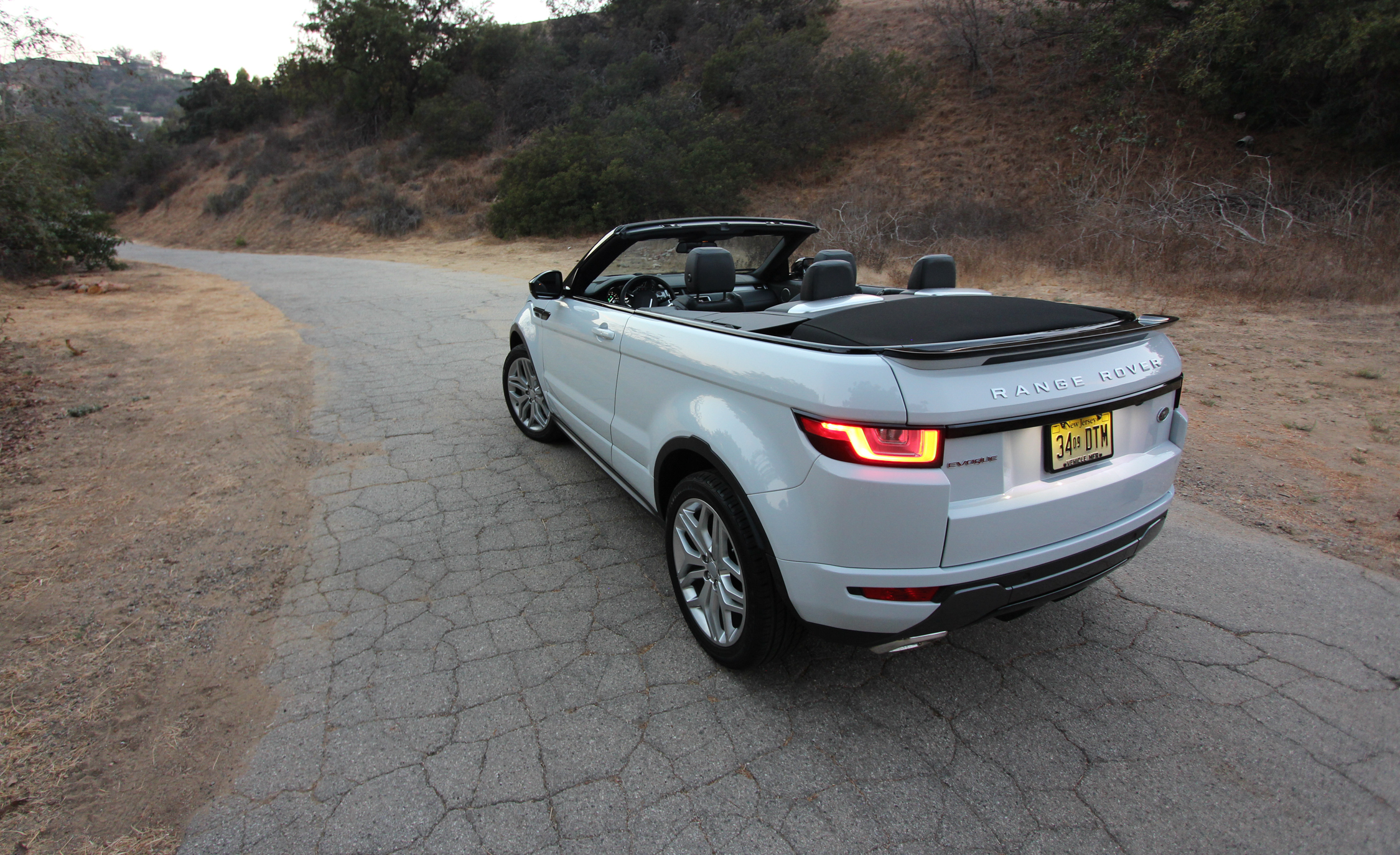 2017 Land Rover Range Rover Evoque Convertible Exterior Open Roof Preview (Photo 5 of 14)