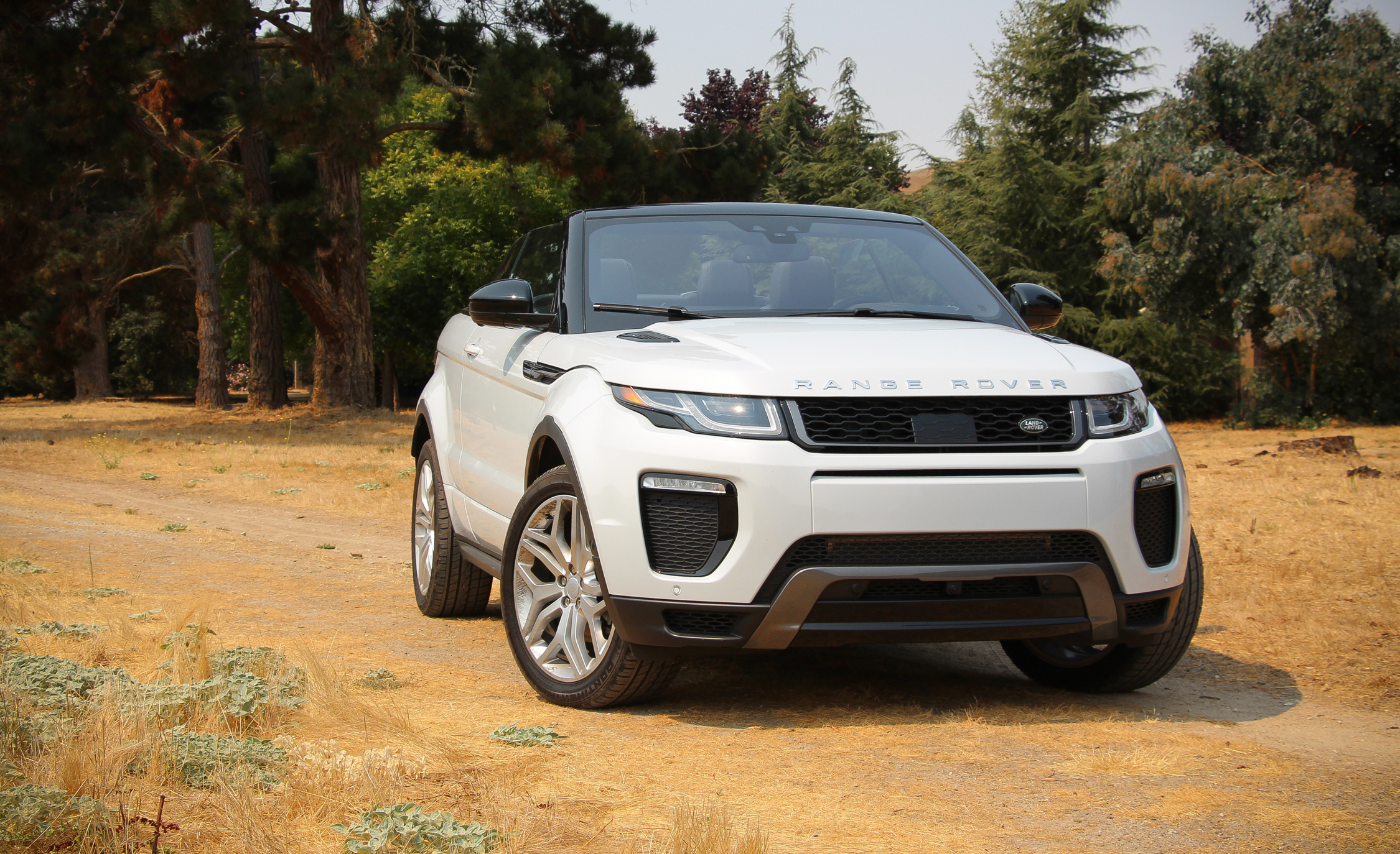 2017 Land Rover Range Rover Evoque Convertible Exterior Open Roof (Photo 3 of 14)