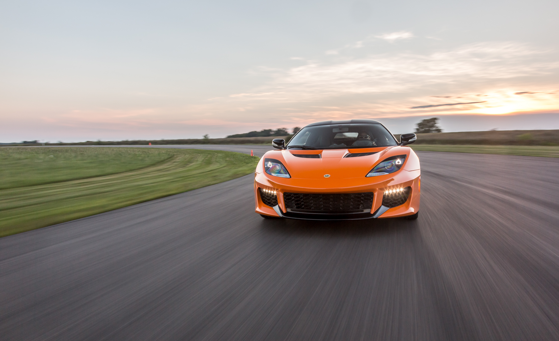 2017 Lotus Evora 400 Circuit Test Front View (View 7 of 12)