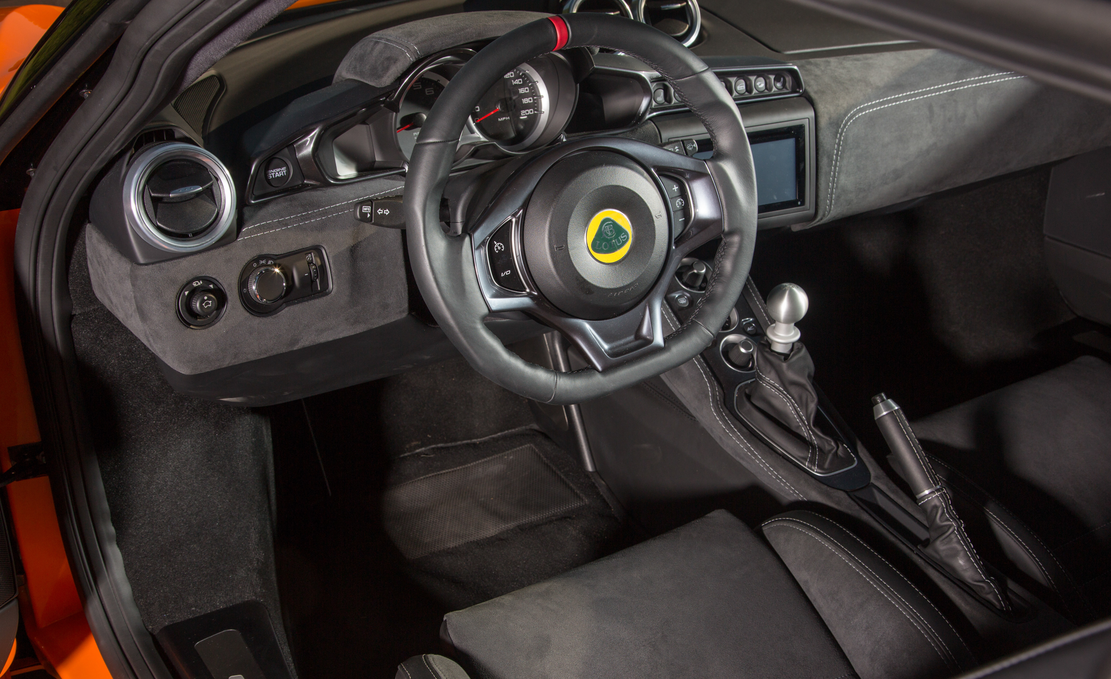2017 Lotus Evora 400 Interior Dashboard (Photo 9 of 12)