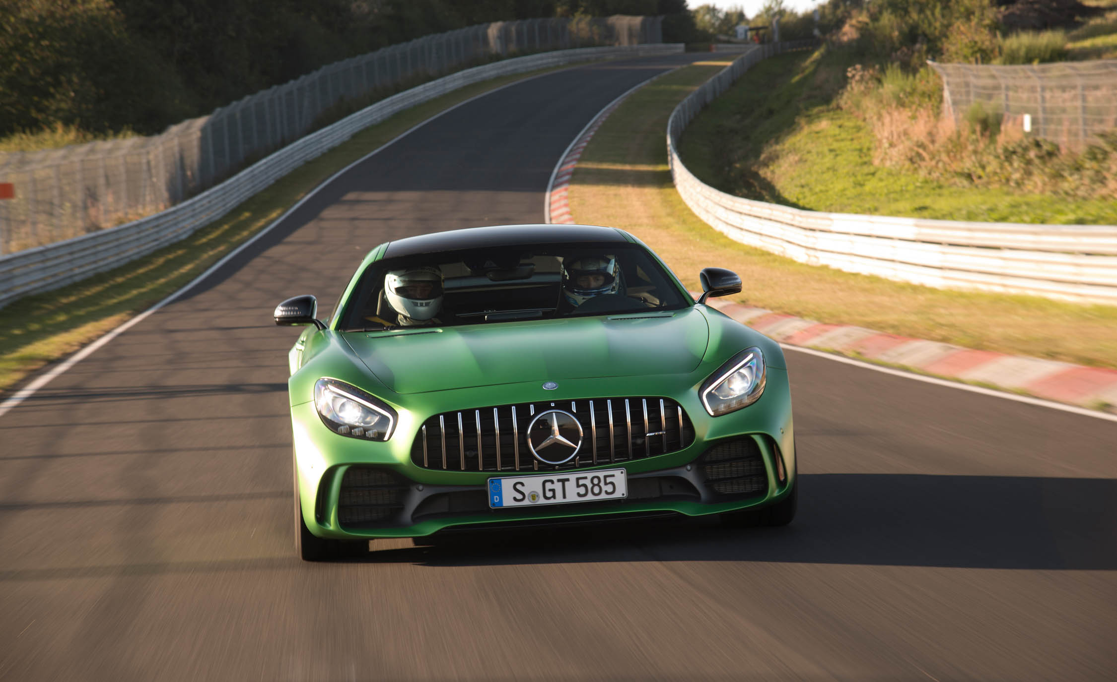 2017 Mercedes Amg Gt R Circuit Test Front View (View 18 of 22)