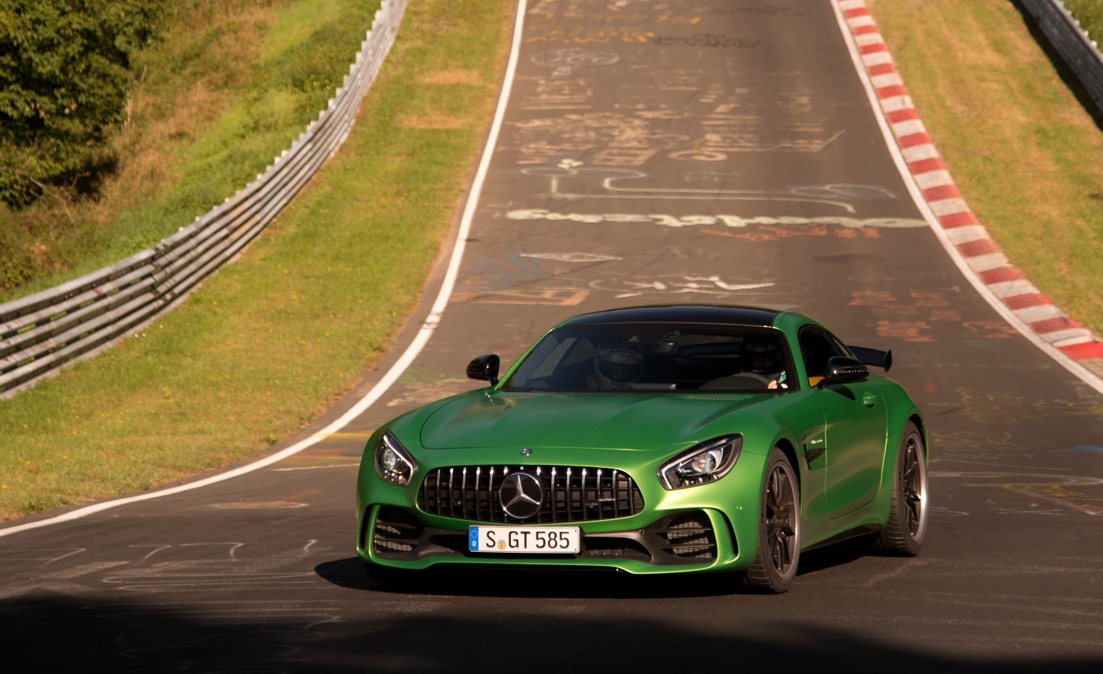 2017 Mercedes Amg Gt R Exterior (View 8 of 22)