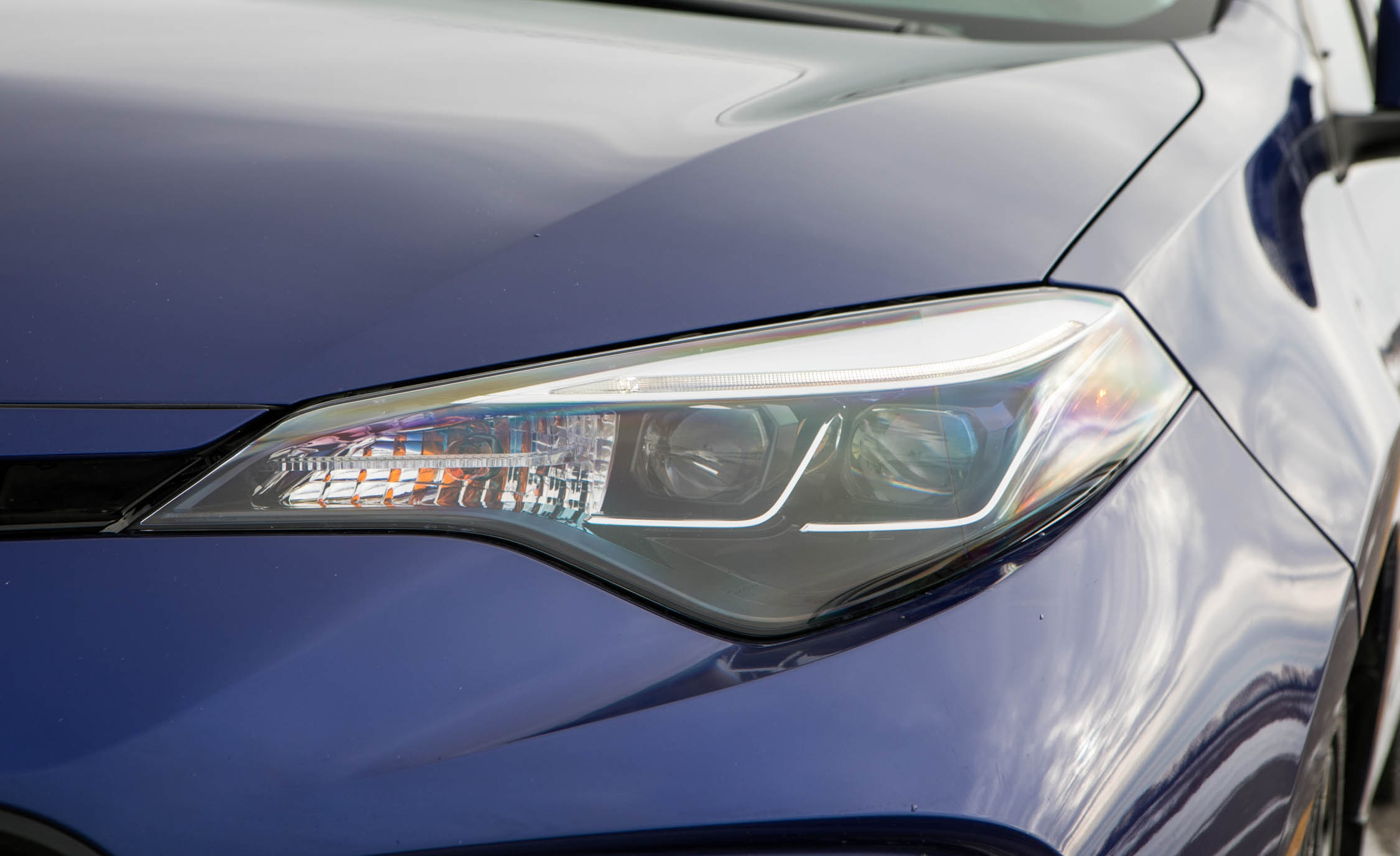 2017 Toyota Corolla XSE Exterior View Headlight (View 65 of 75)