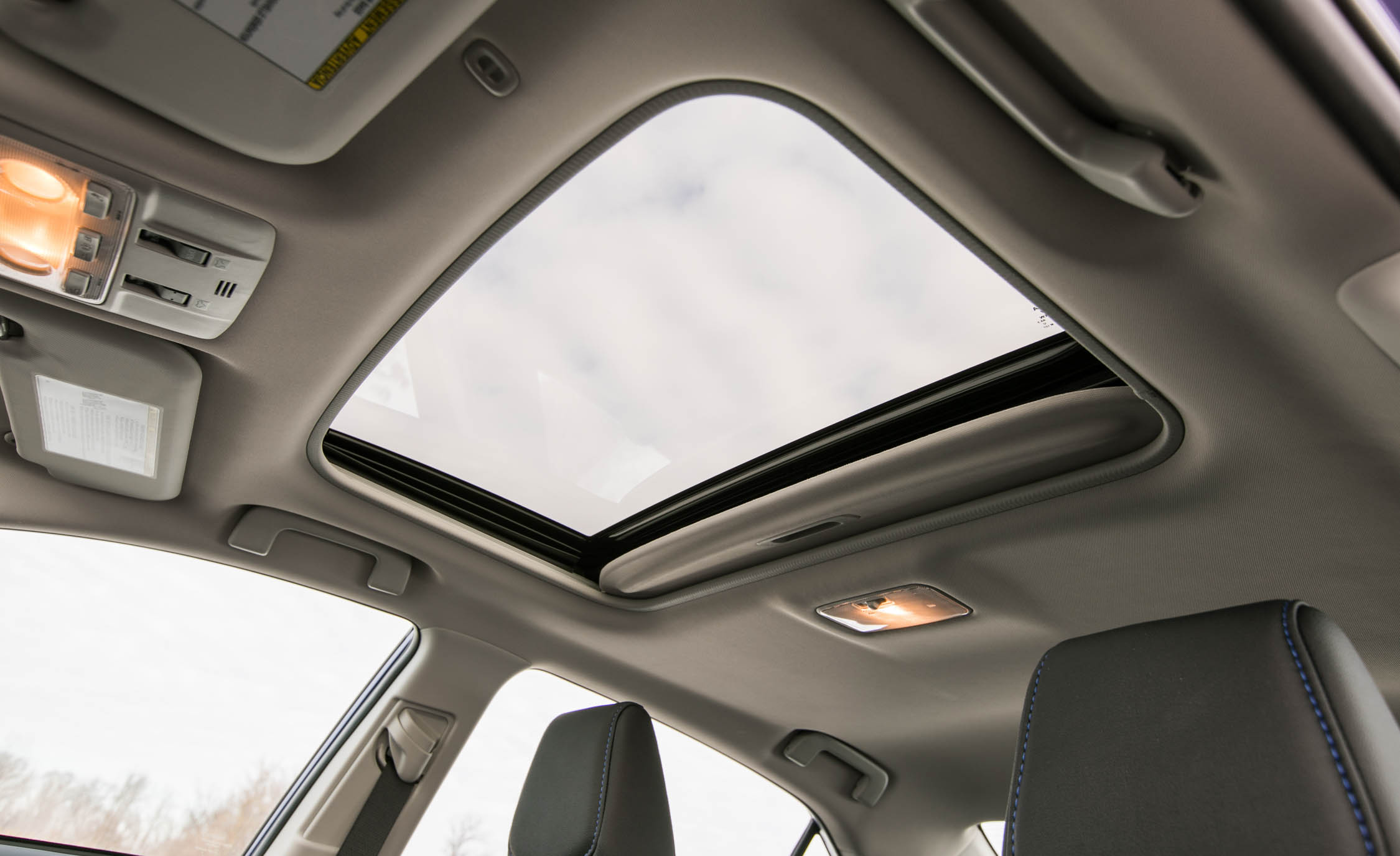 2017 Toyota Corolla XSE Interior View Sunroof (Photo 65 of 75)