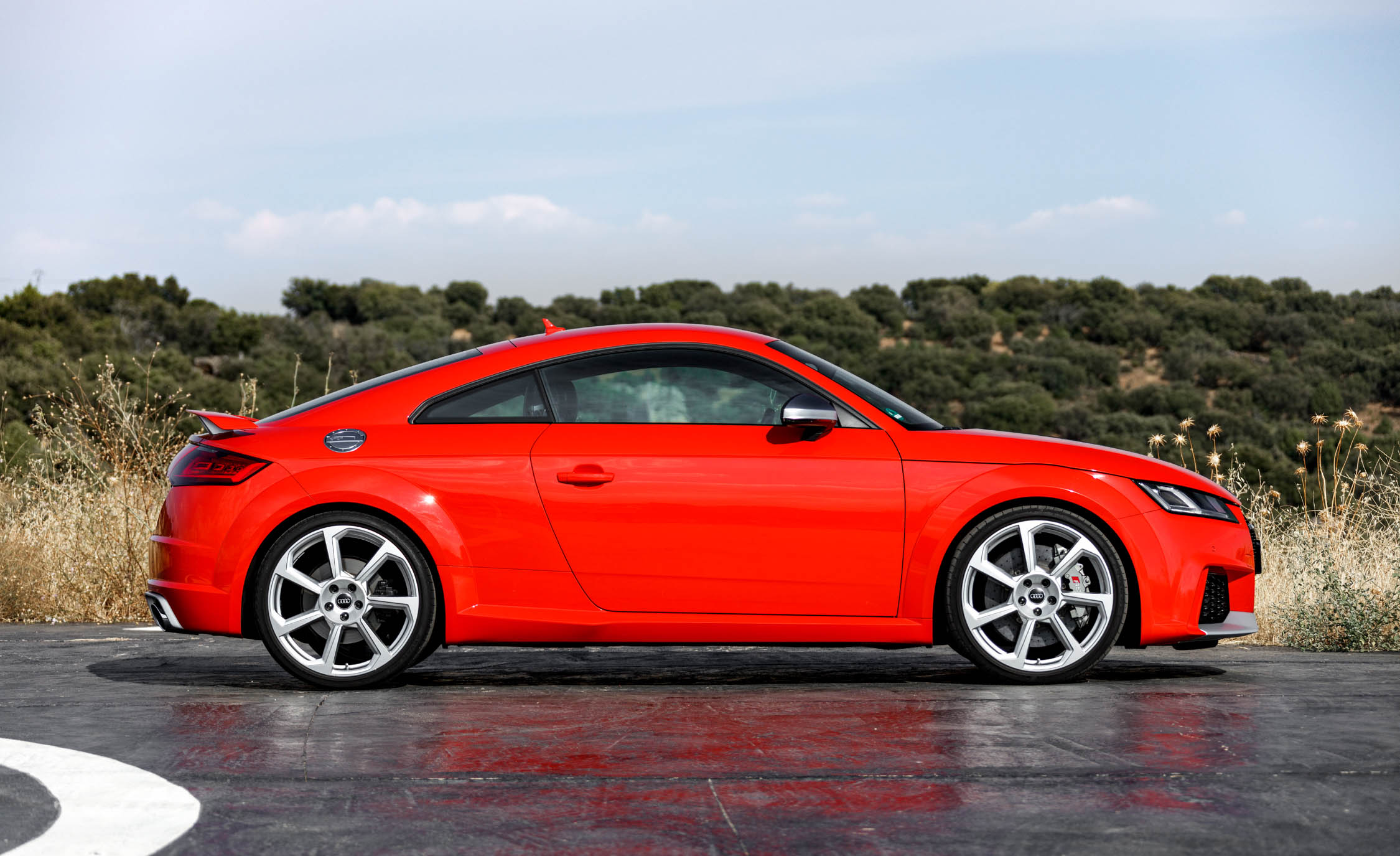 2017 Audi TT RS Coupe (View 8 of 34)