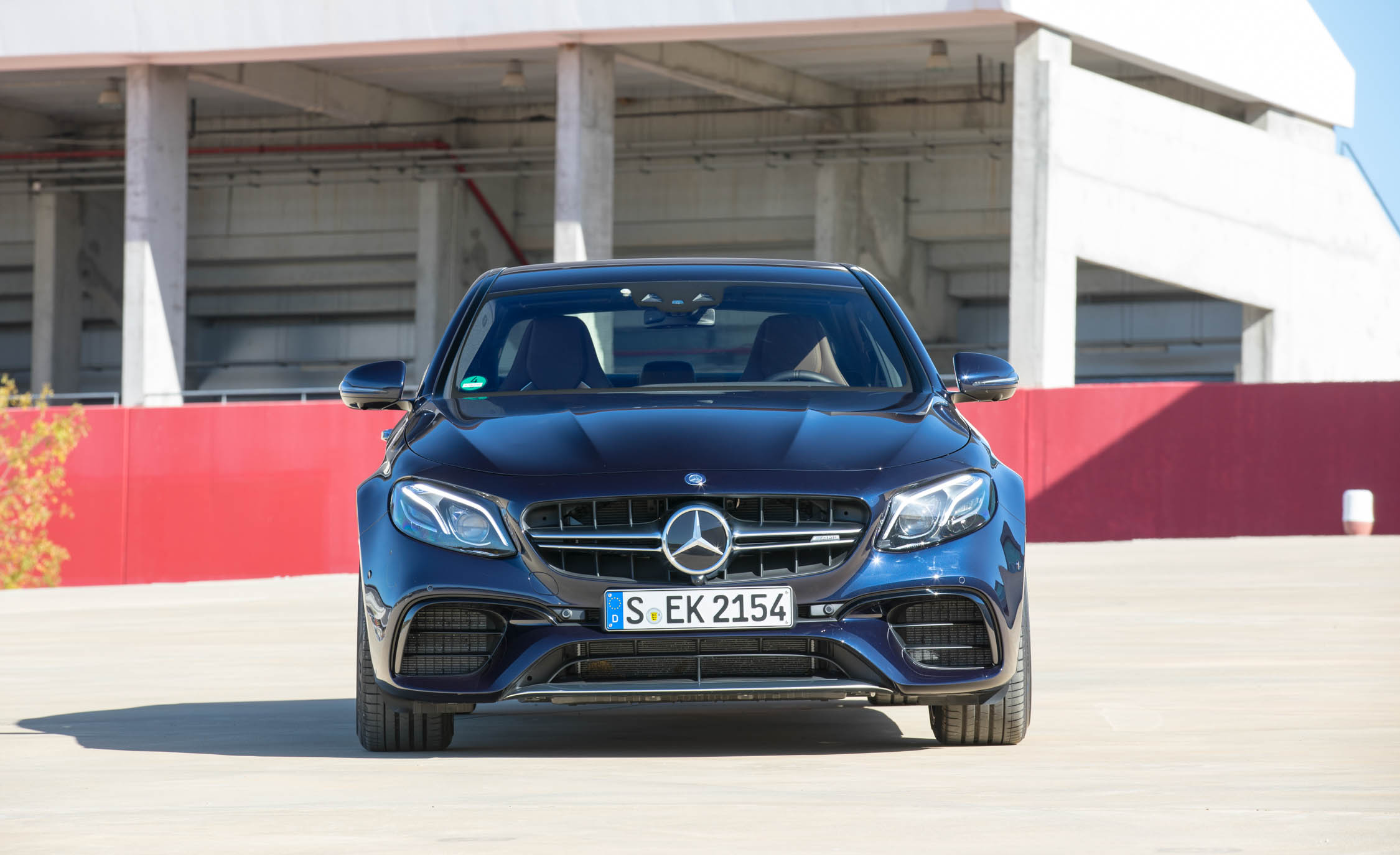 2018 Mercedes AMG E63 Exterior Black Front (Photo 22 of 41)
