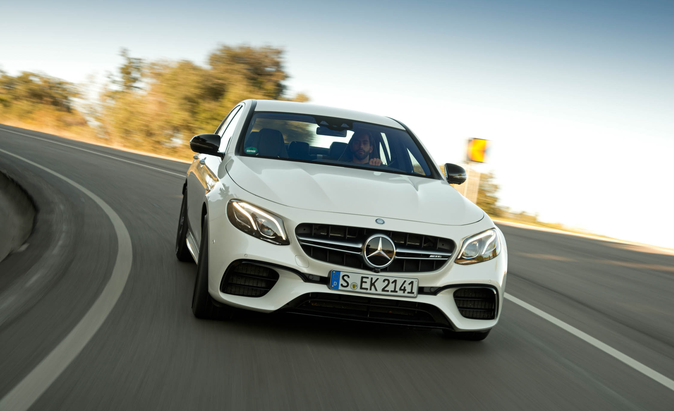 2018 Mercedes AMG E63 Test Drive (Photo 31 of 41)