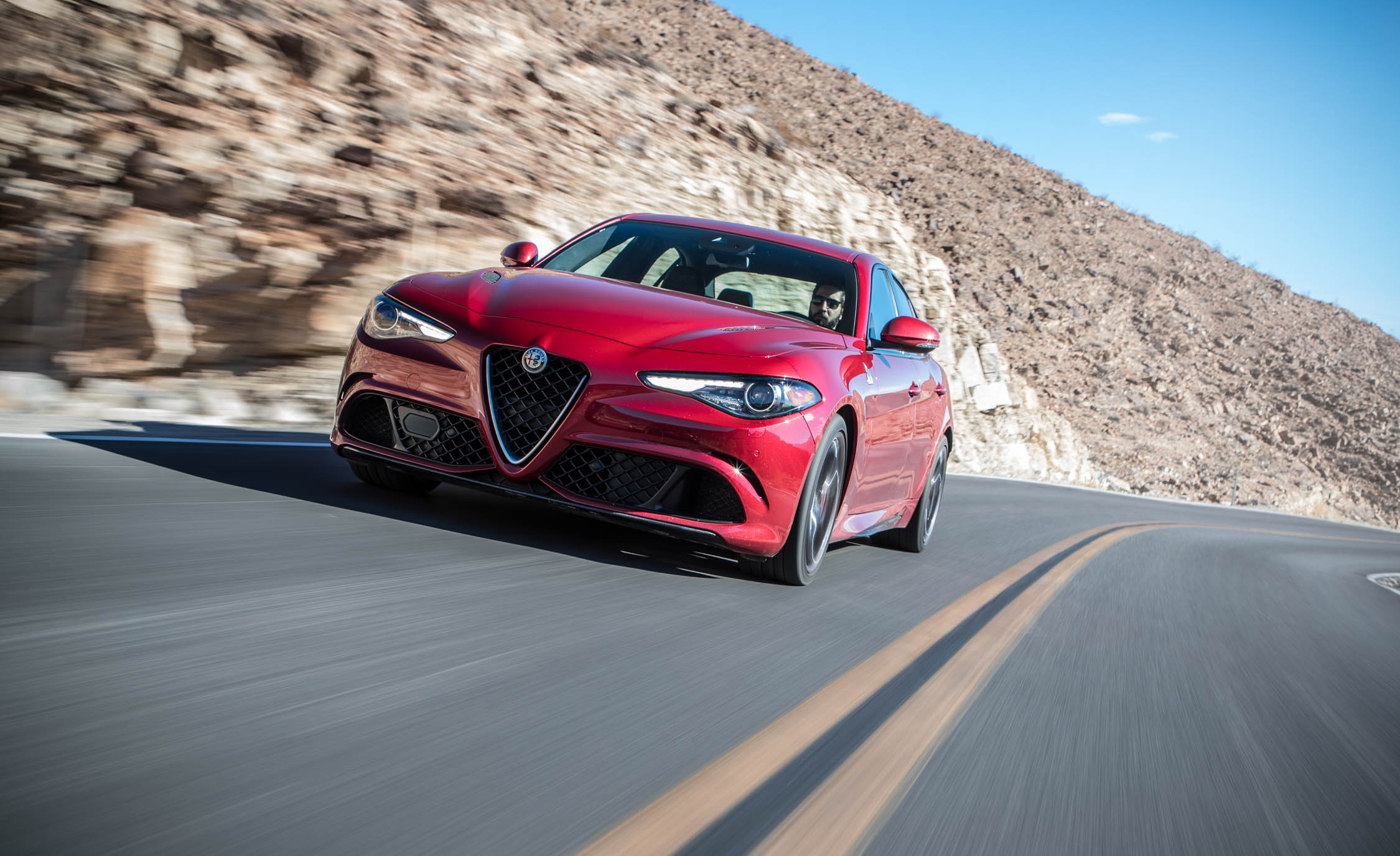 2017 Alfa Romeo Giulia Quadrifoglio (Photo 16 of 29)
