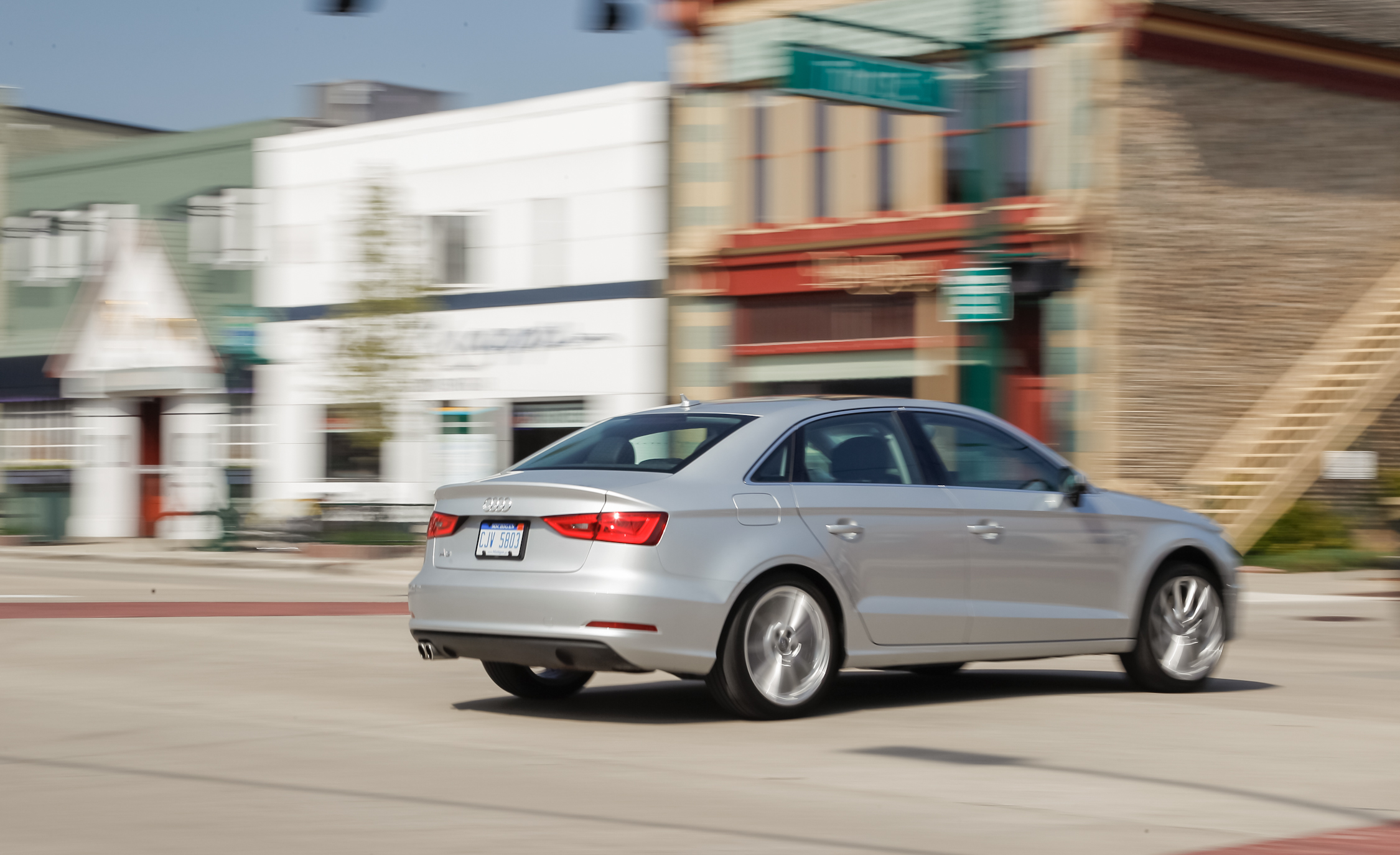 2015 Audi A3 1.8T Test Drive Rear And Side View (Photo 39 of 50)