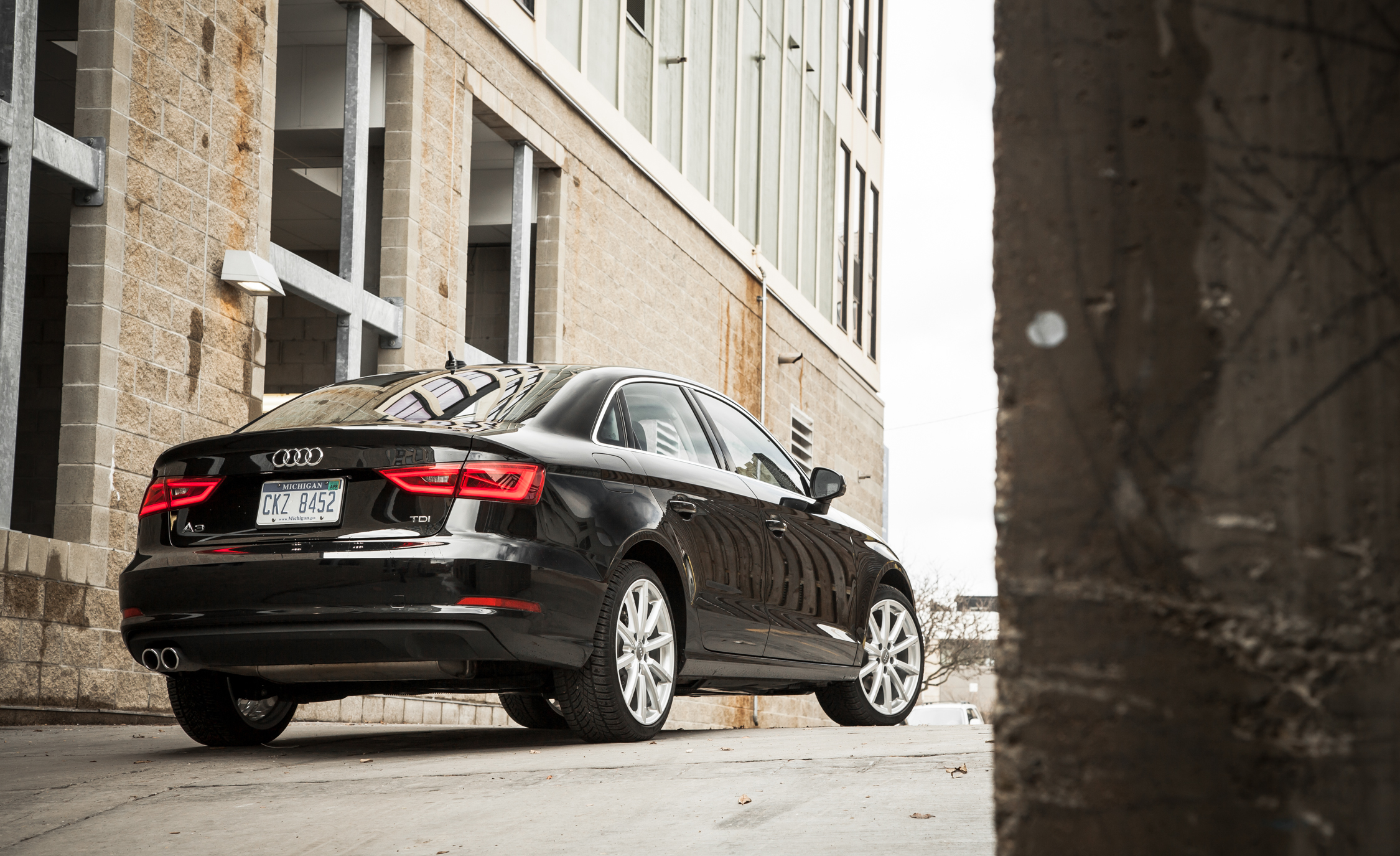 2015 Audi A3 TDI Exterior Rear And Side (Photo 26 of 50)