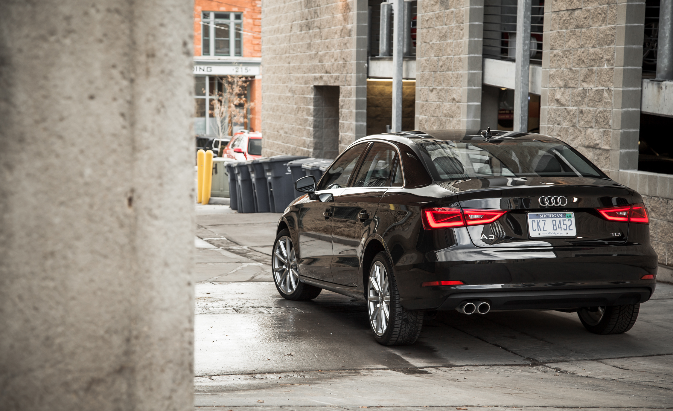 2015 Audi A3 TDI Exterior Rear (Photo 25 of 50)