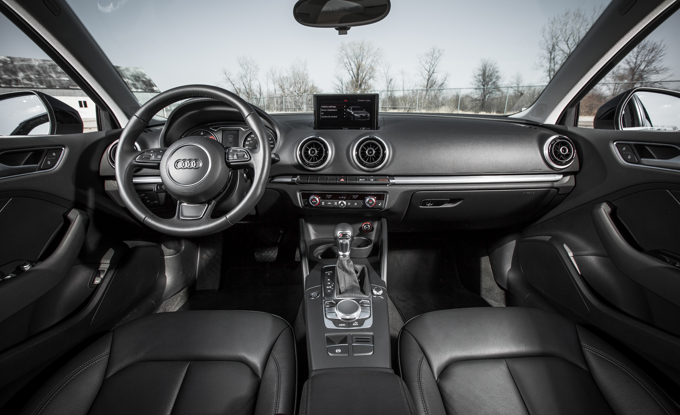 2015 Audi A3 TDI Interior Dashboard (Photo 33 of 50)