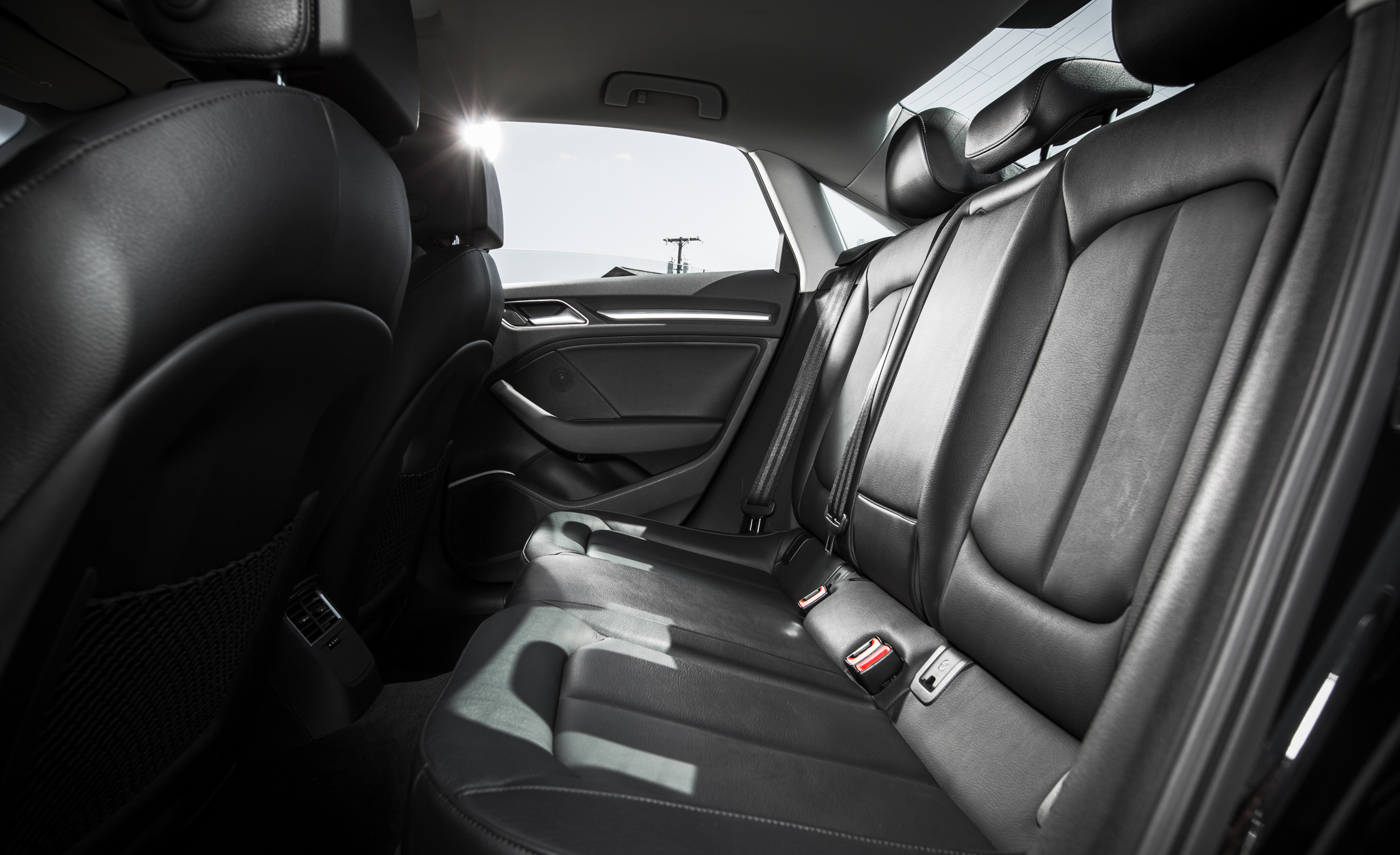 2015 Audi A3 TDI Interior Seats Rear Space (Photo 38 of 50)