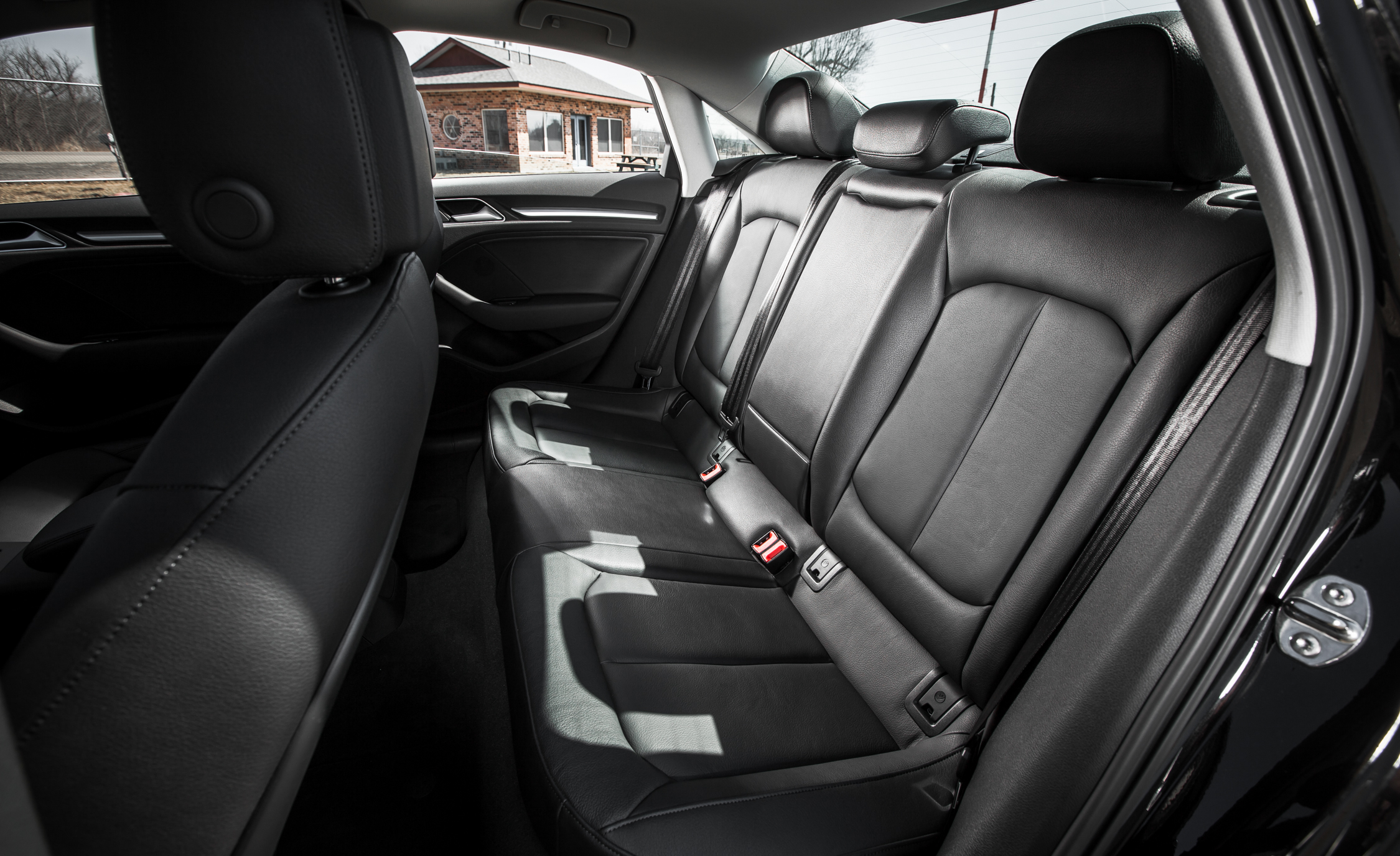 2015 Audi A3 TDI Interior Seats Rear (Photo 13 of 50)