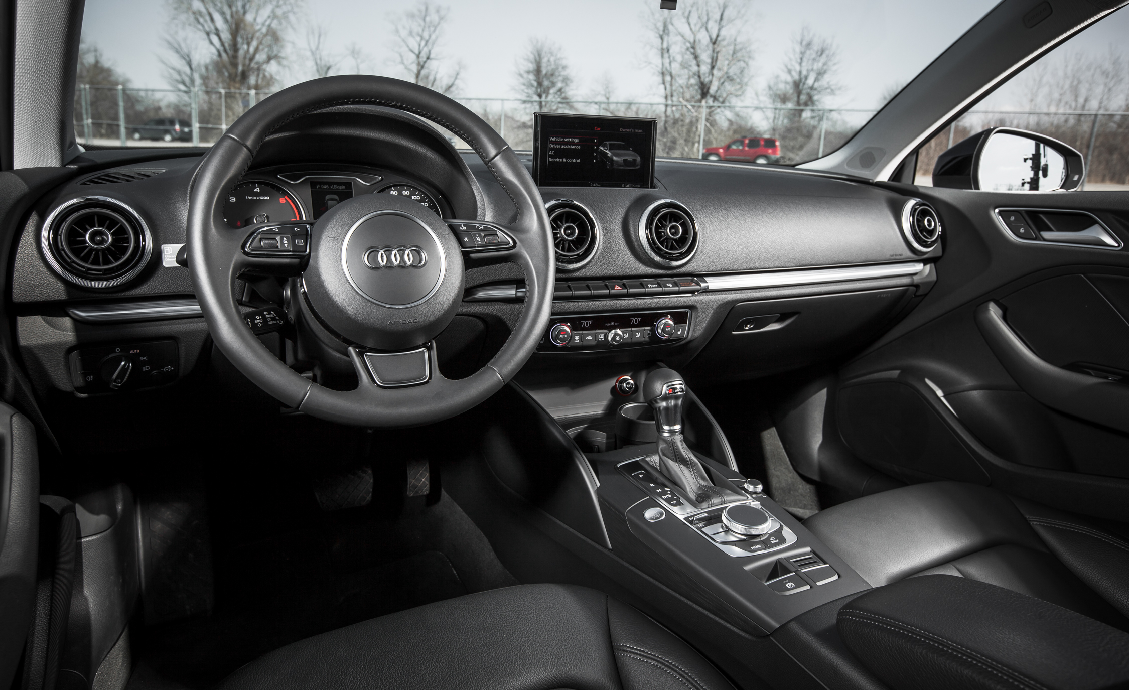 2015 Audi A3 TDI Interior Steering And Dash (Photo 39 of 50)