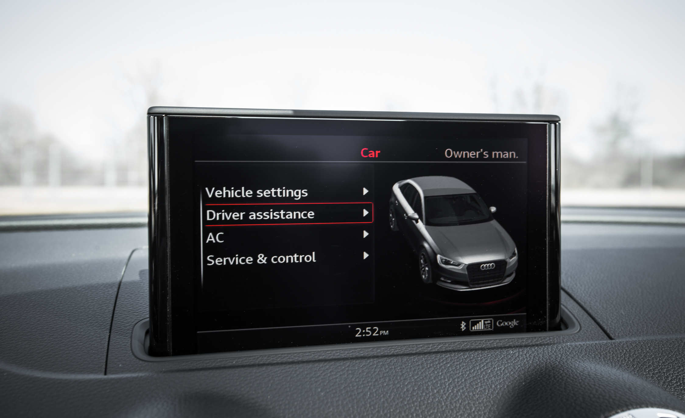 2015 Audi A3 TDI Interior View Center Screen (Photo 40 of 50)
