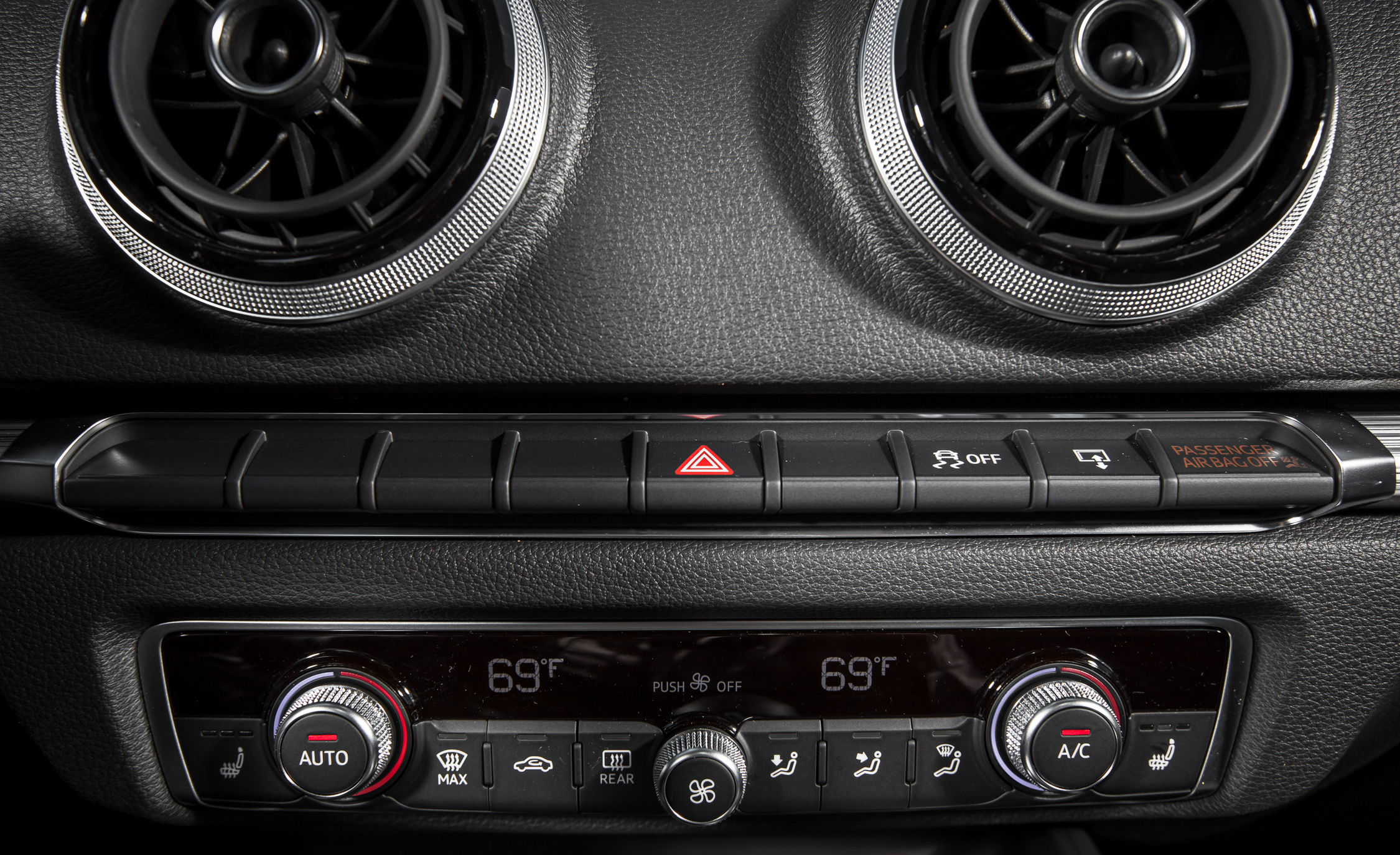 2015 Audi A3 TDI Interior View Climate Control (Photo 41 of 50)