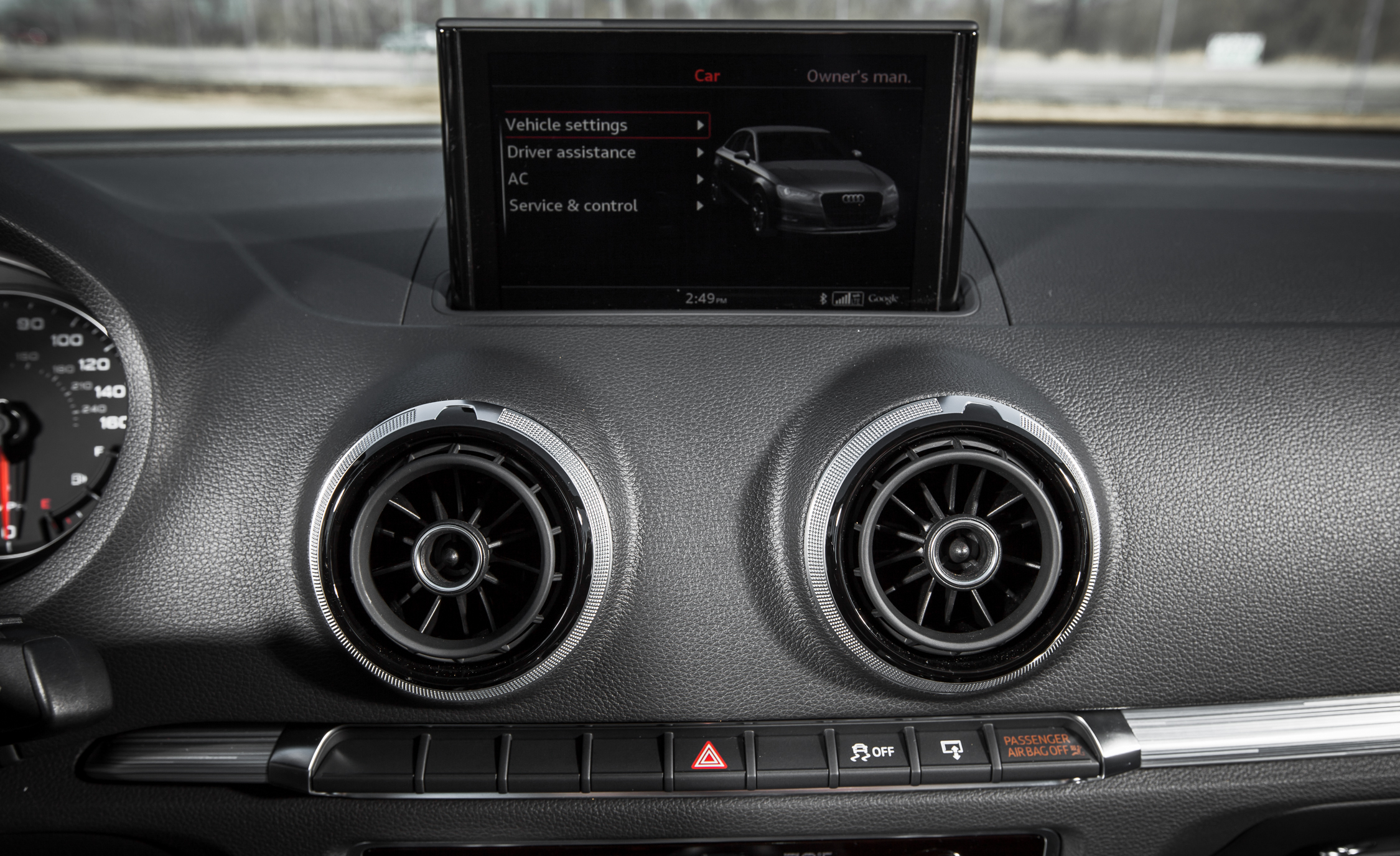 2015 Audi A3 TDI Interior View Headunit Multimedia (Photo 43 of 50)