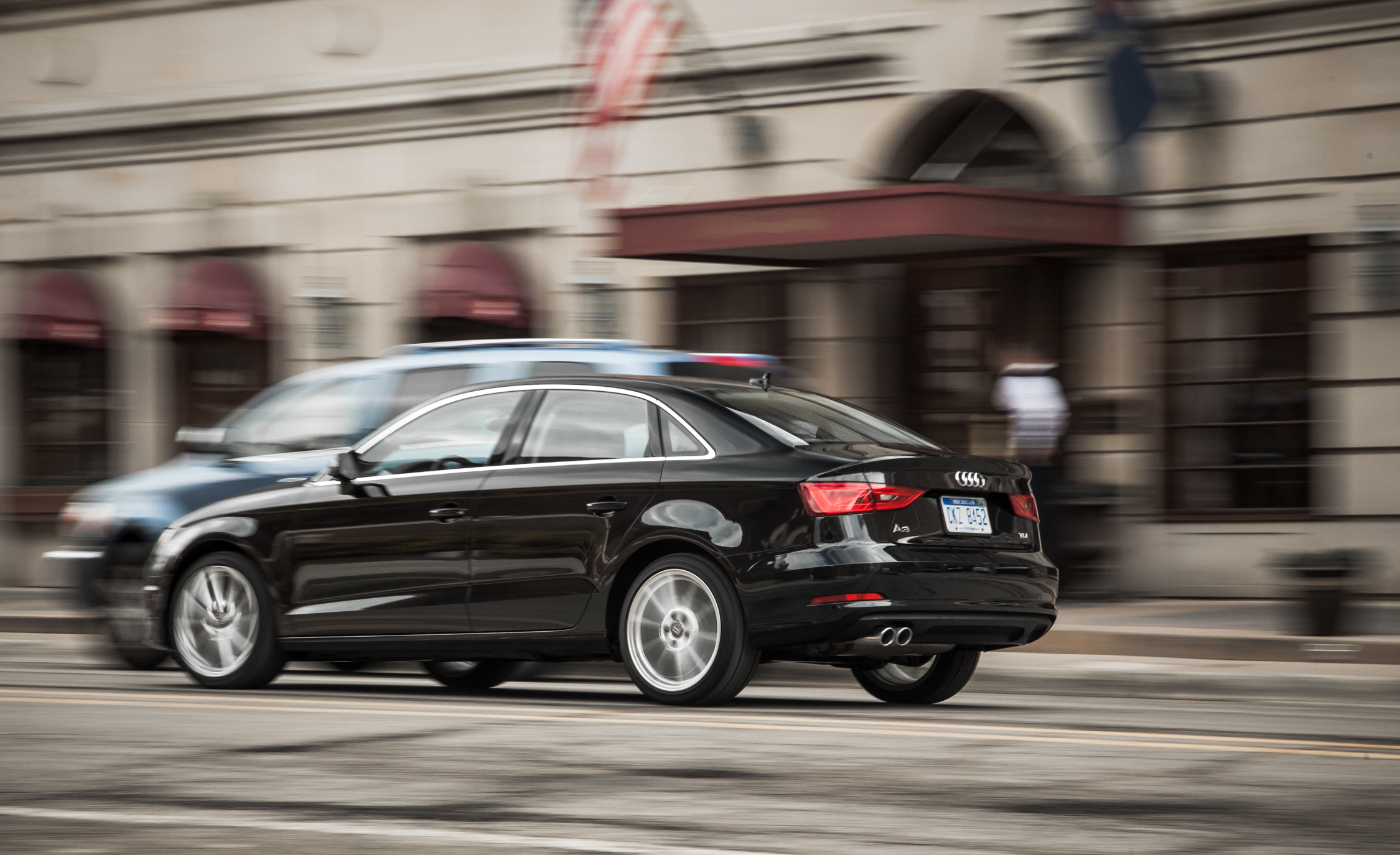 2015 Audi A3 TDI Test Drive Side And Rear View (Photo 48 of 50)