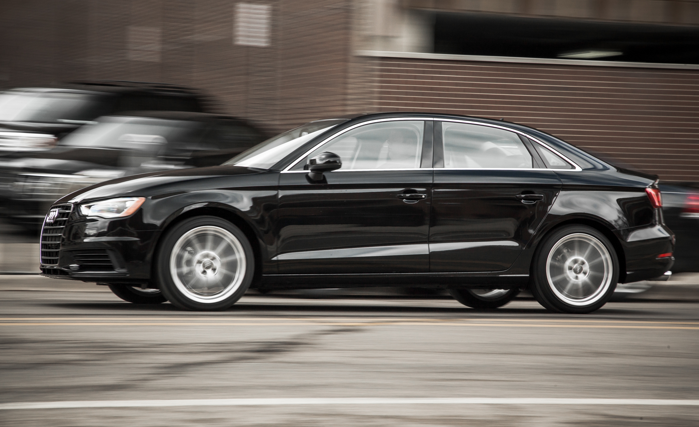 2015 Audi A3 TDI Test Drive Side View (Photo 49 of 50)
