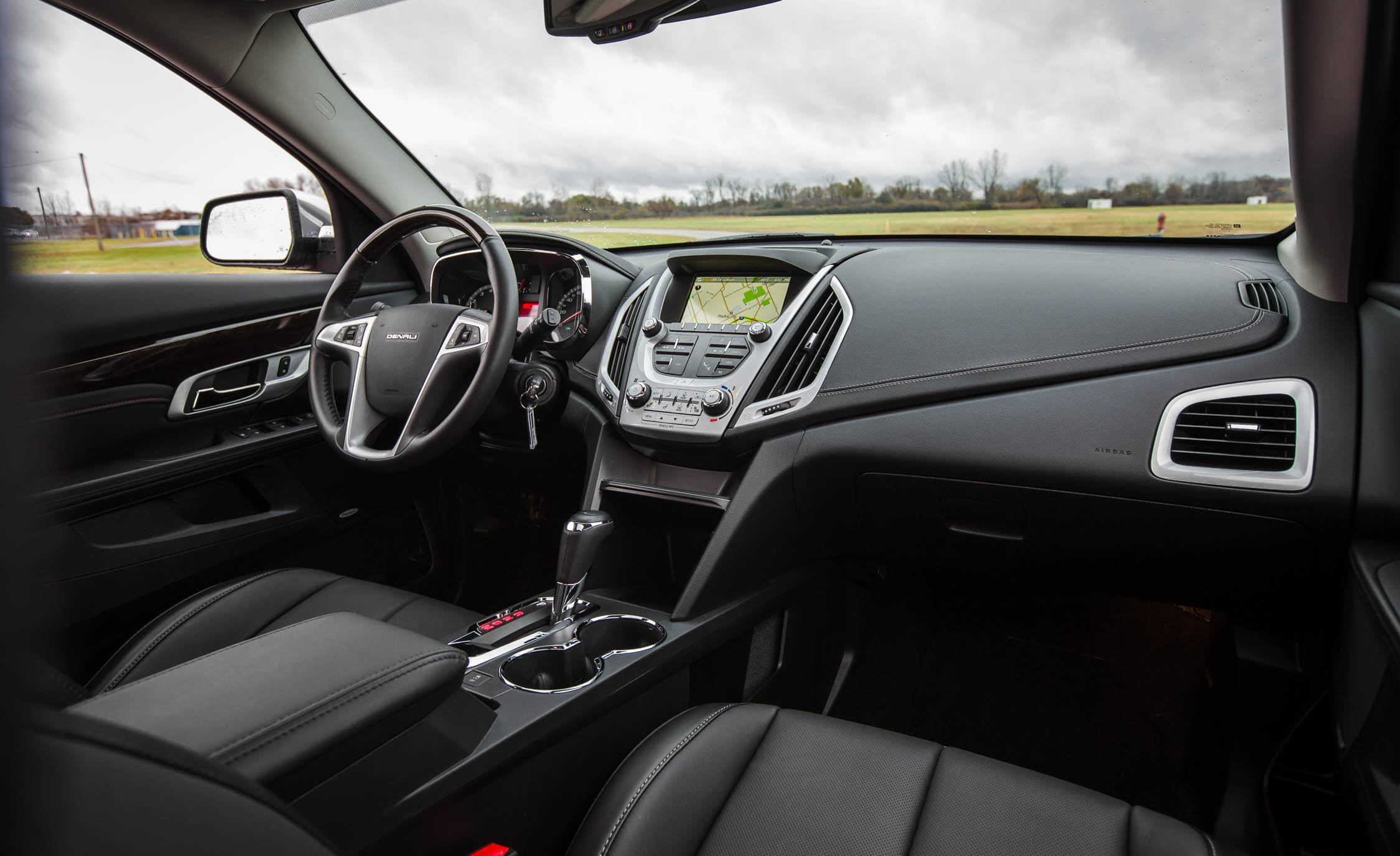 2016 GMC Terrain Denali Interior (View 15 of 24)