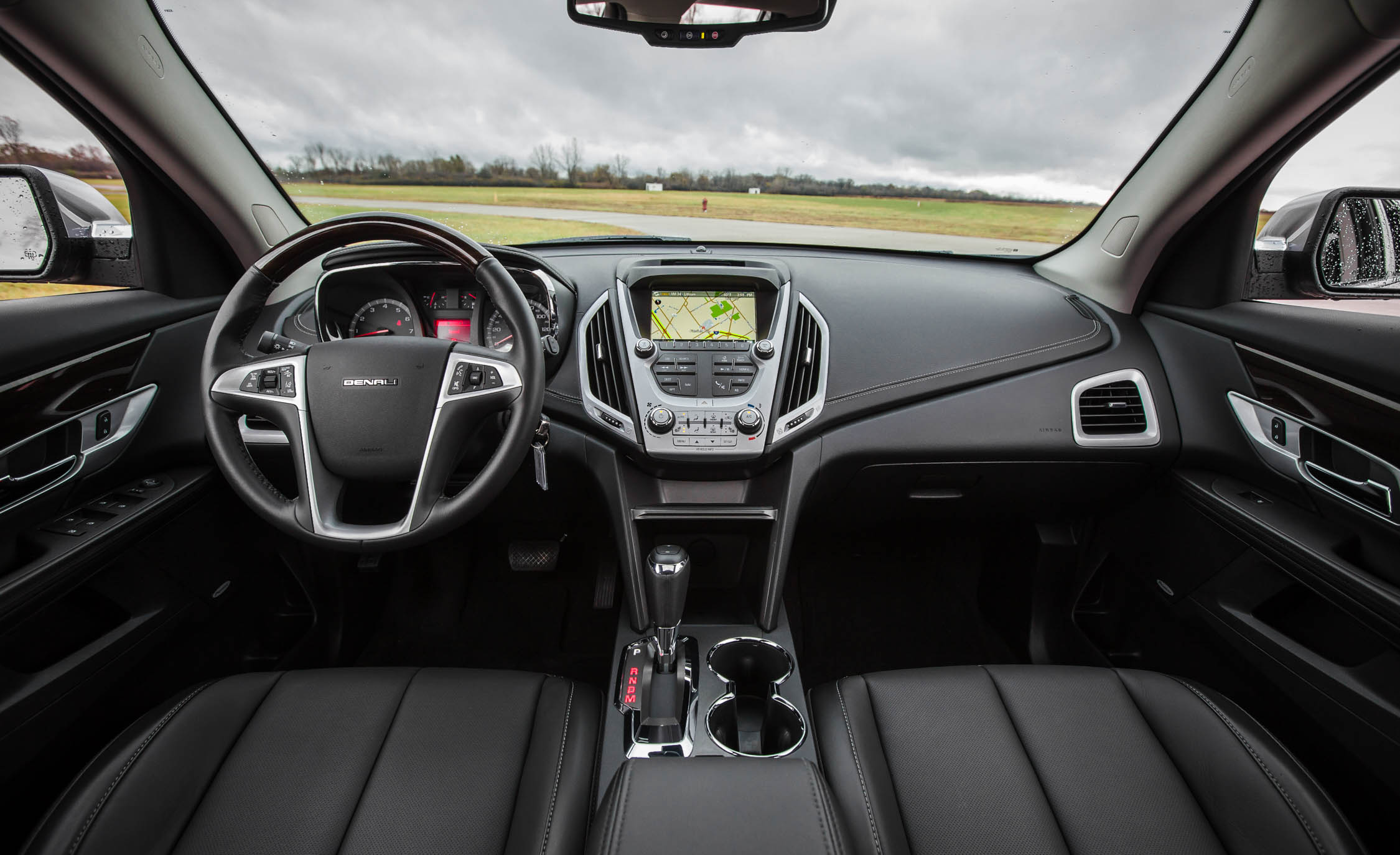 2016 GMC Terrain Denali Interior (View 4 of 24)