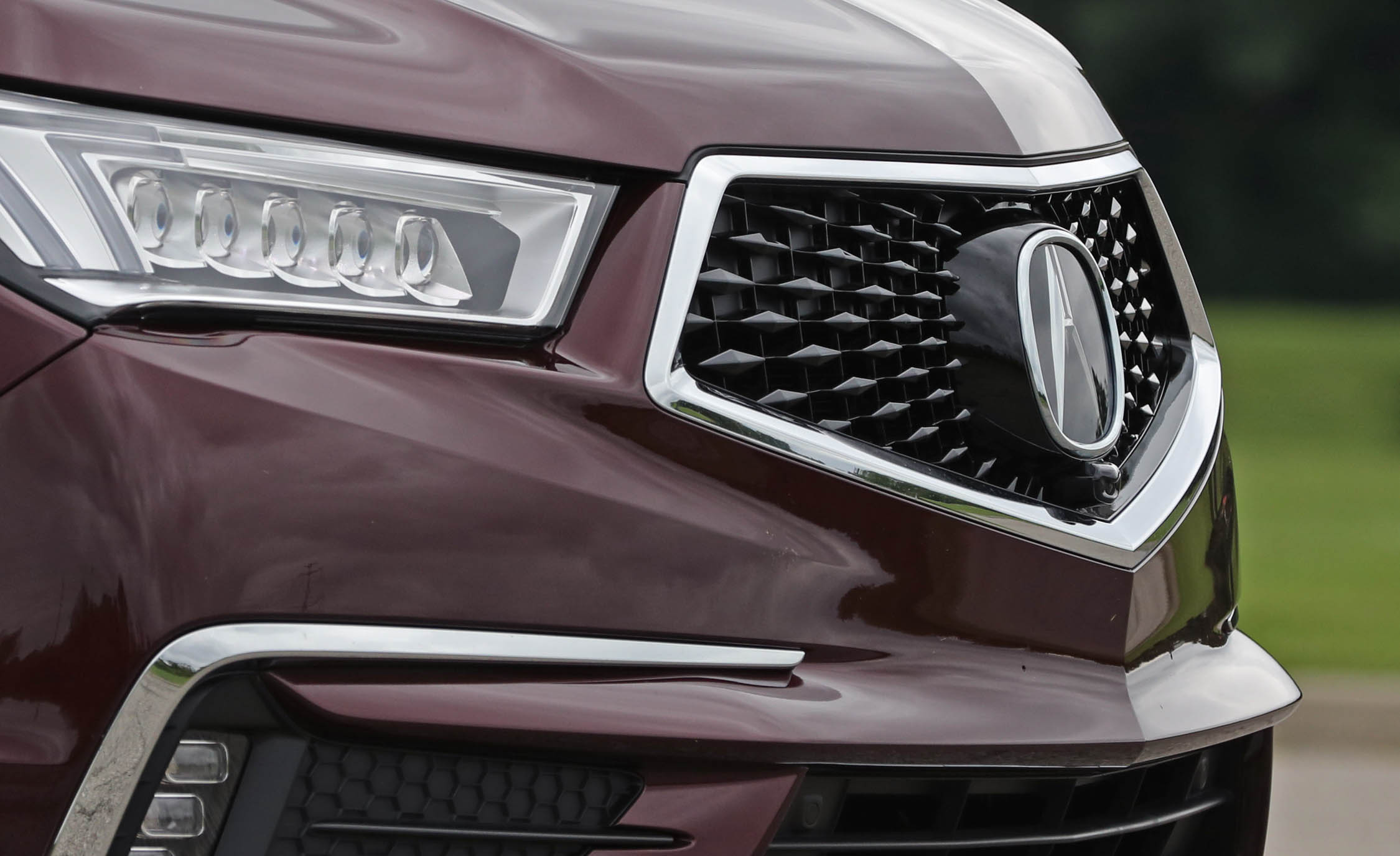 2017 Acura Mdx Exterior View Grille (Photo 20 of 22)