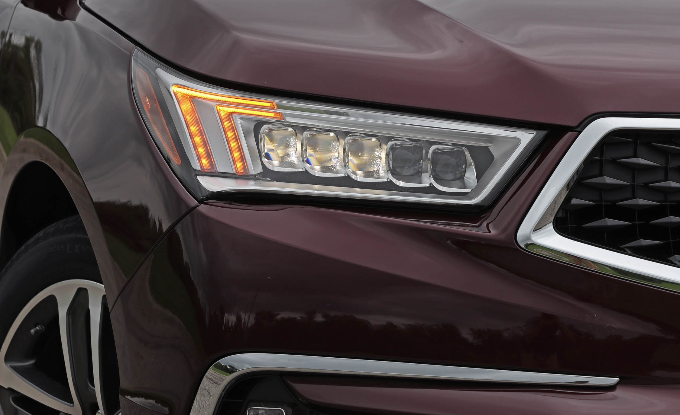 2017 Acura Mdx Exterior View Headlight (Photo 11 of 22)