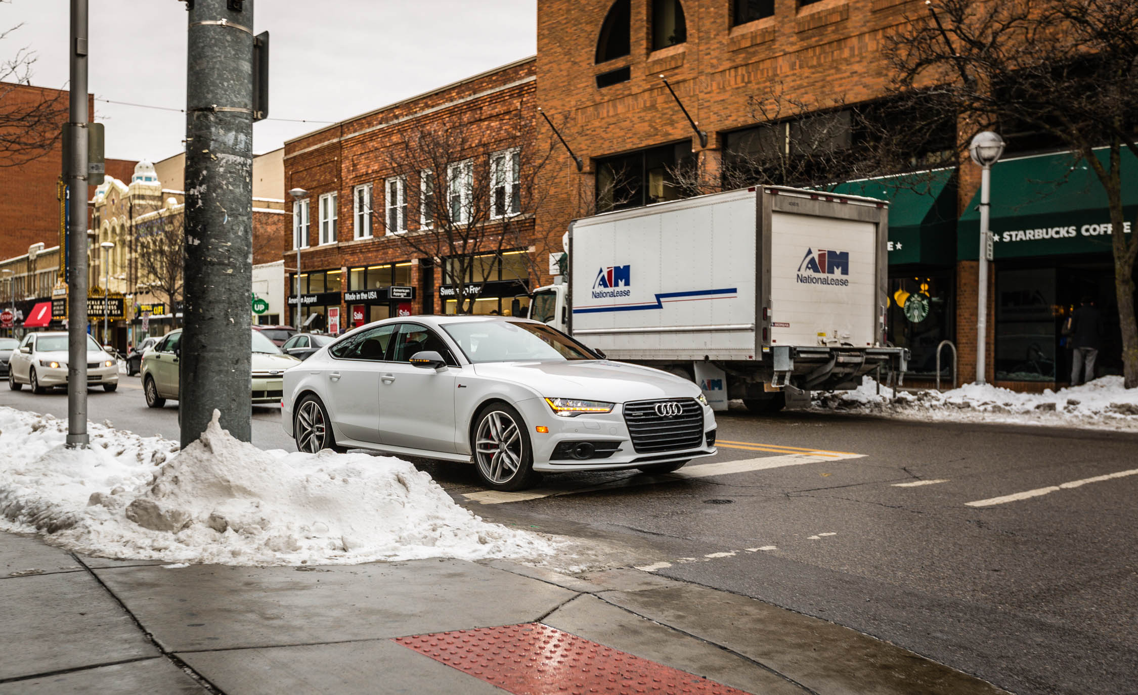 2017 Audi A7 Competition White (Photo 2 of 24)