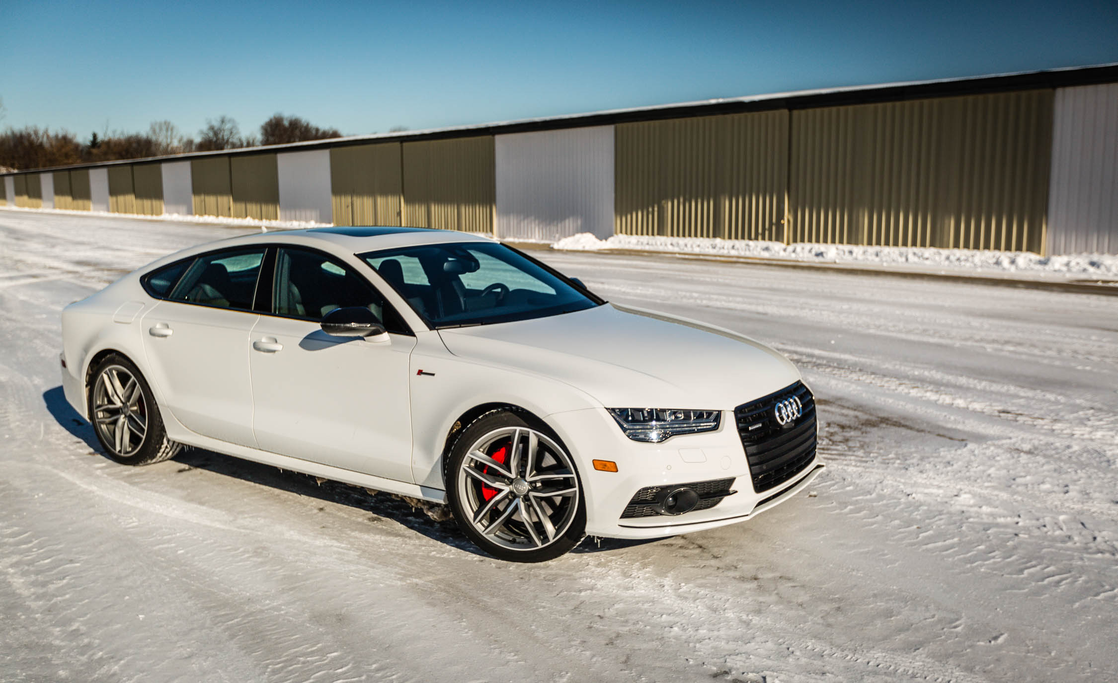 2017 Audi A7 Exterior Front And Side (View 23 of 24)